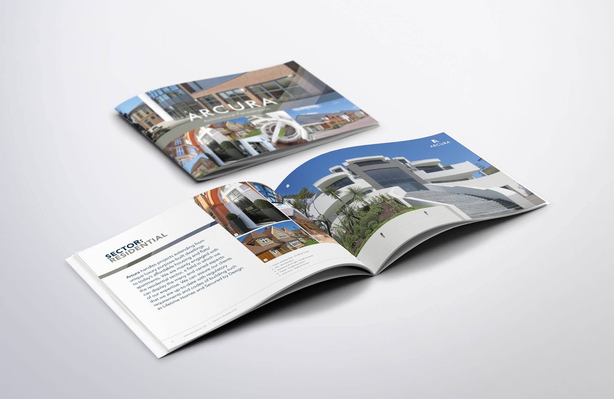 Arcura Overview Brochure Design and Printing