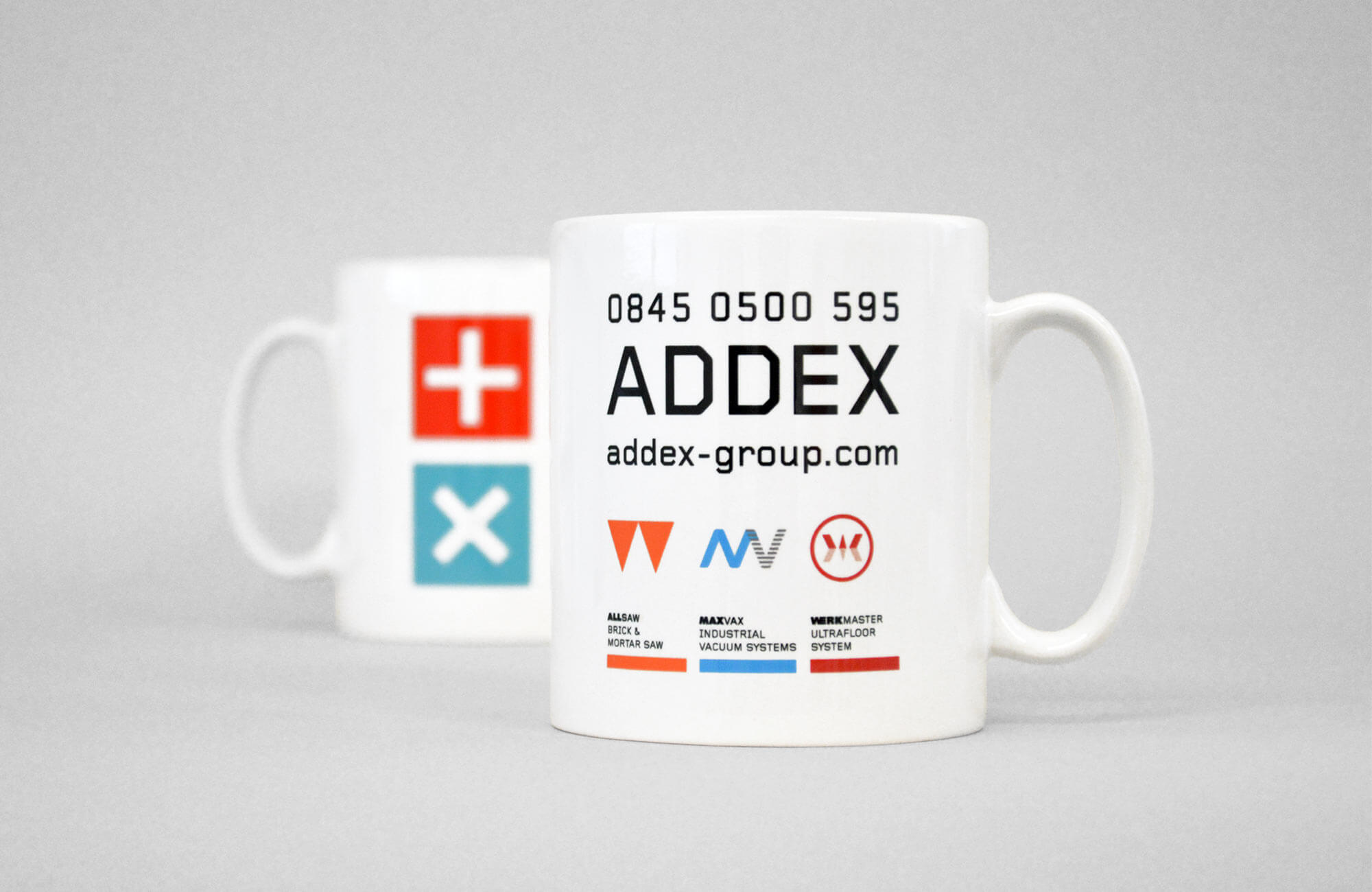 Addex Group Branded Mugs