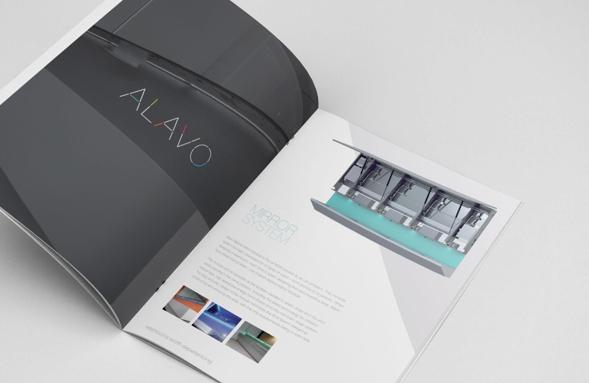 Alavo Brochure Design Concept