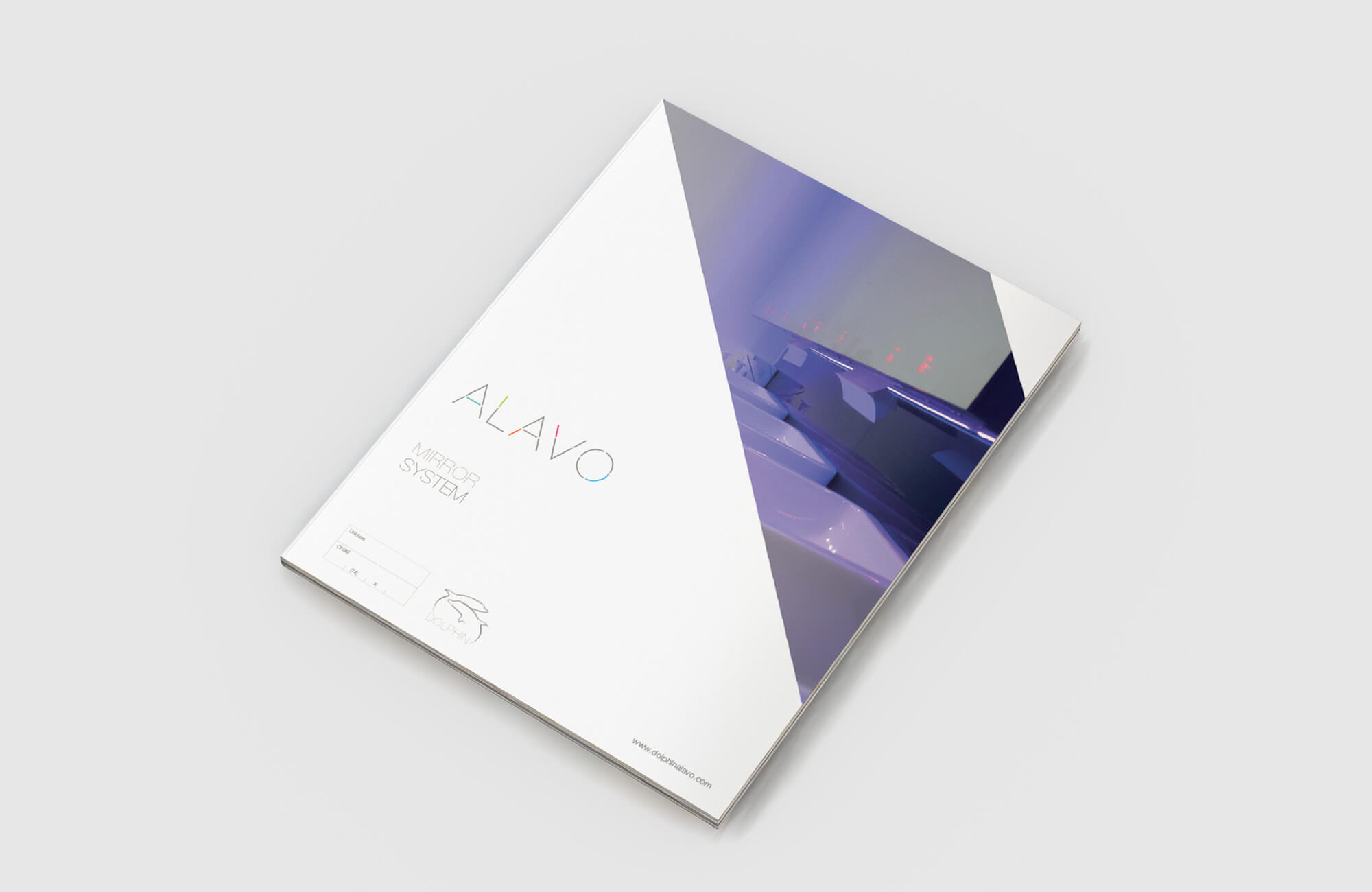 Alavo Brochure Cover Design Concept