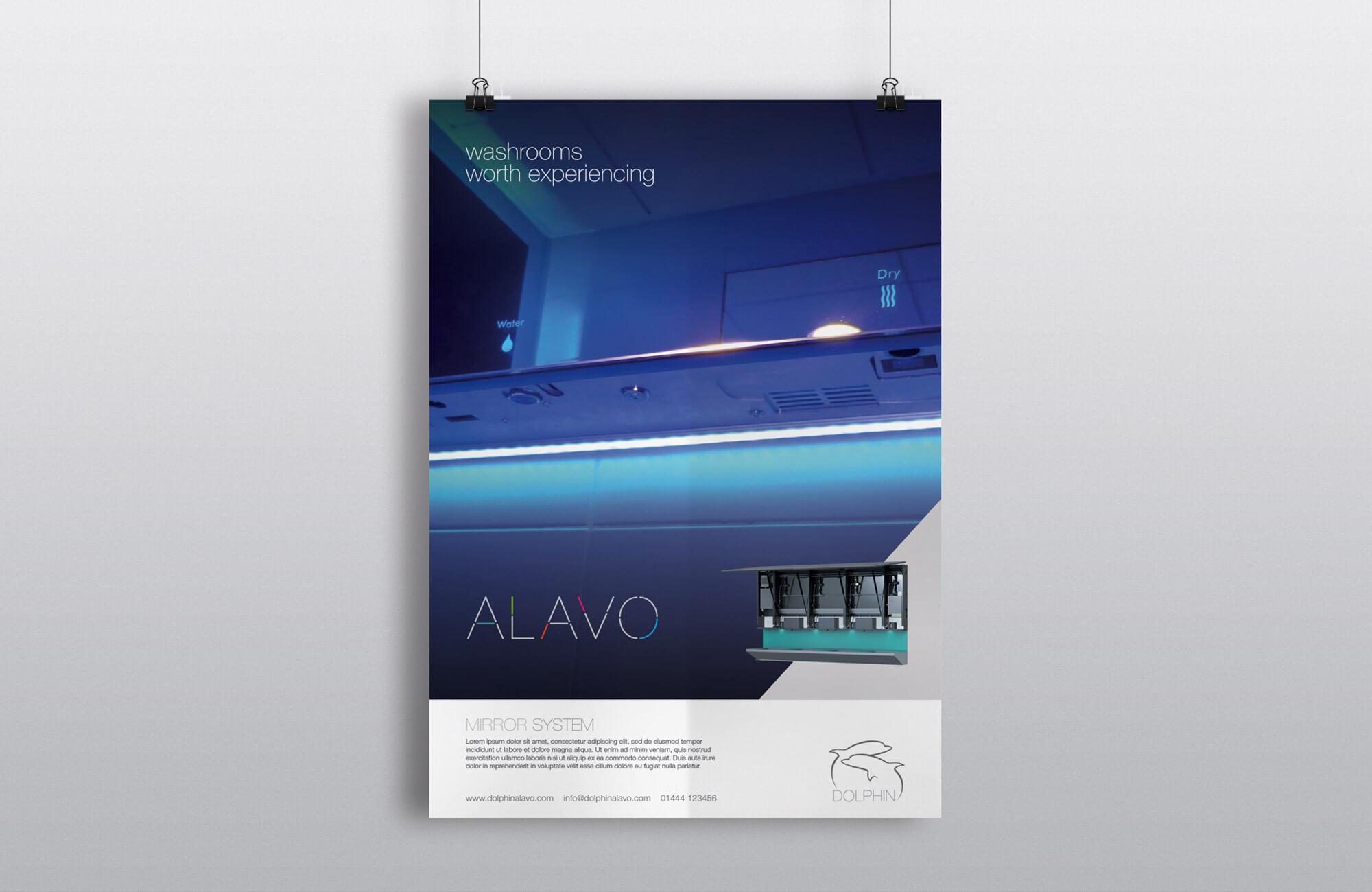 Alavo Poster Design Concept
