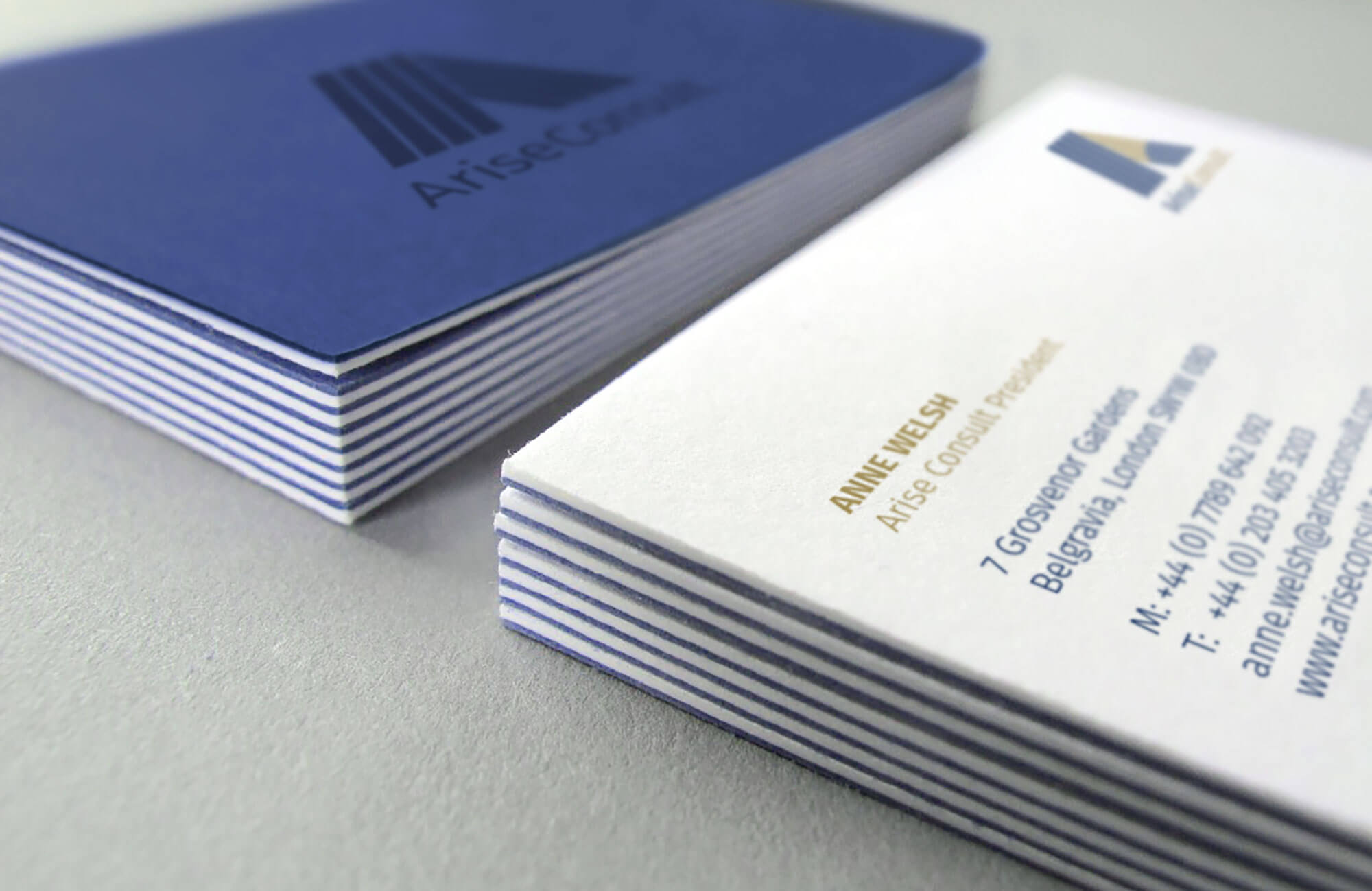 Arise Consult Business Card Design and Printing