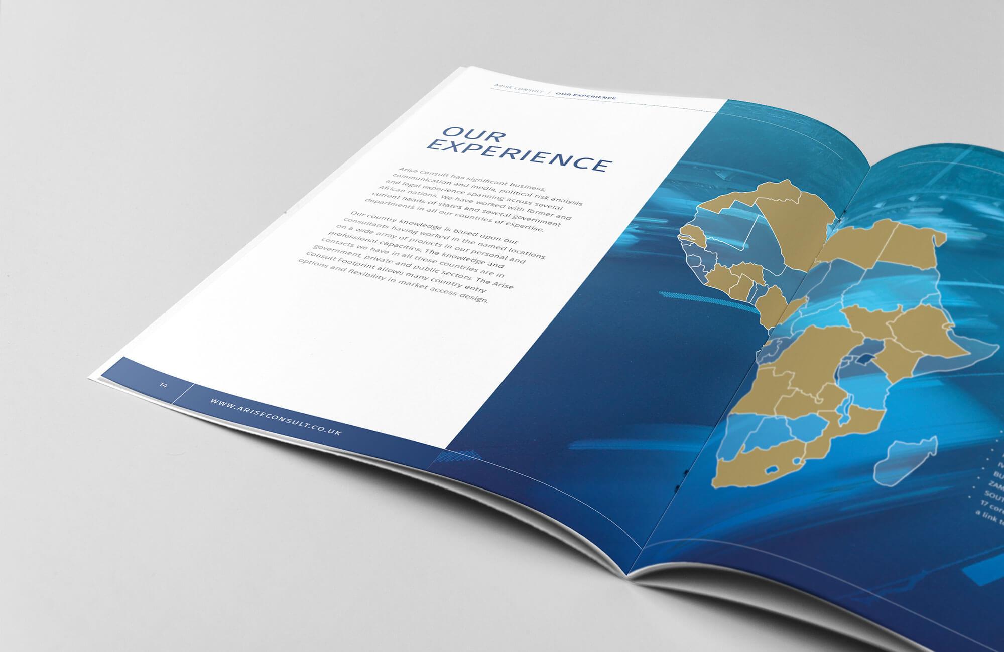 Arise Consult Brochure Design Concept