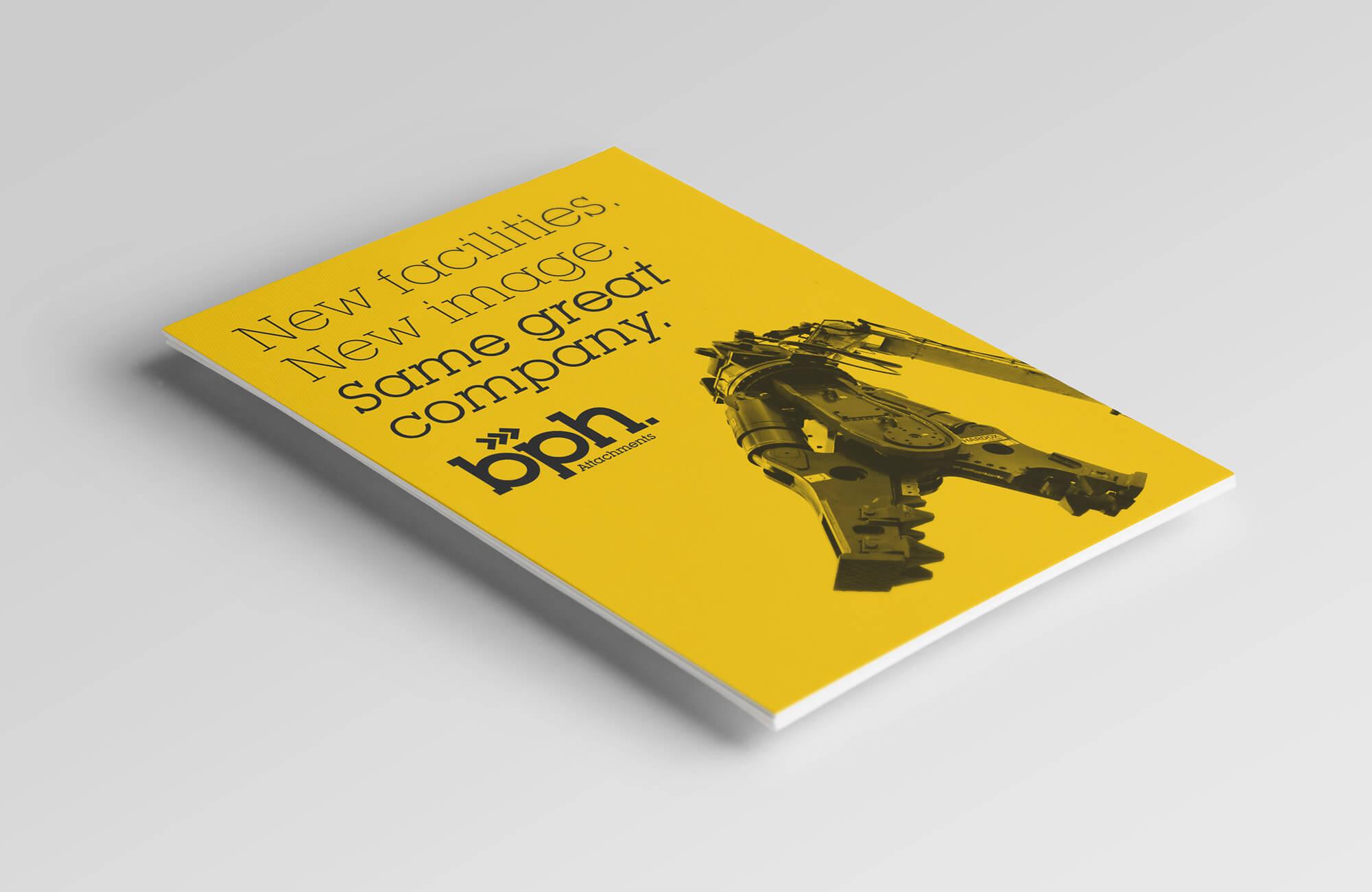 BPH Rebrand Flyer