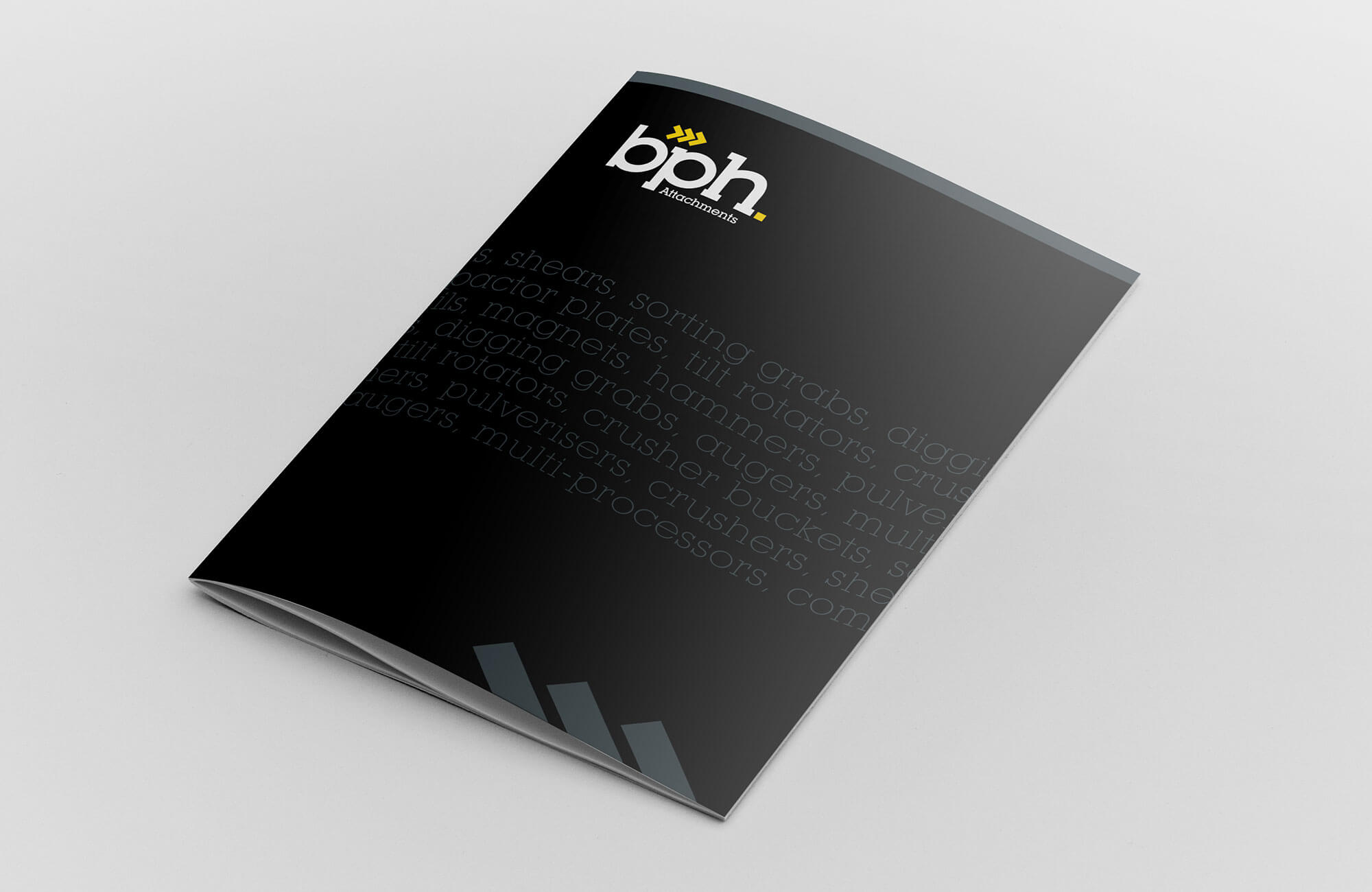 BPH Brochure Cover Design Concept