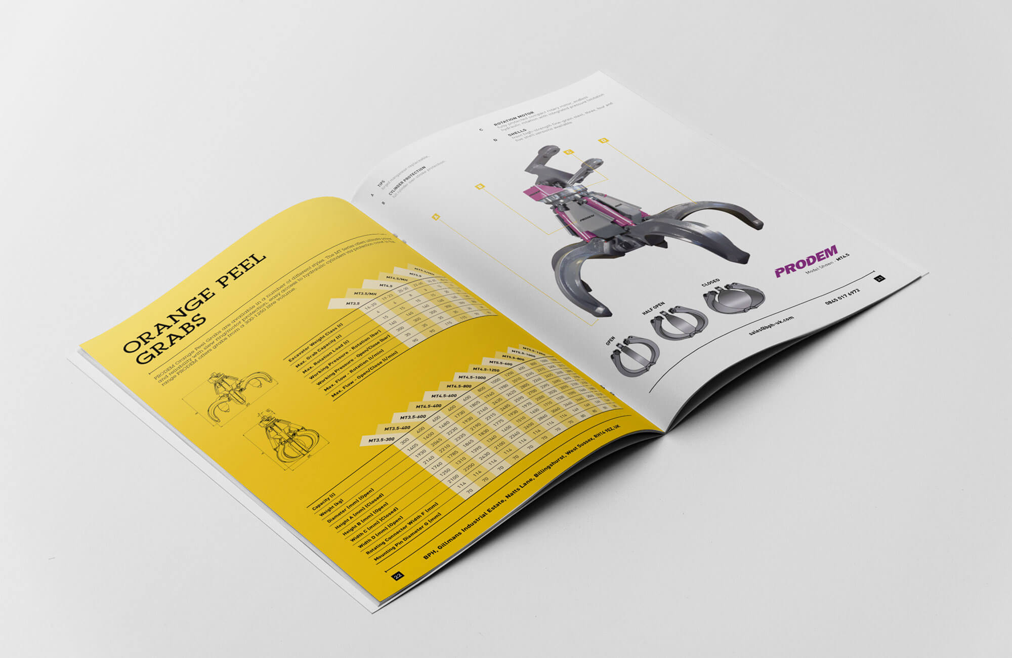 BPH Brochure Inside Spread Design Concept