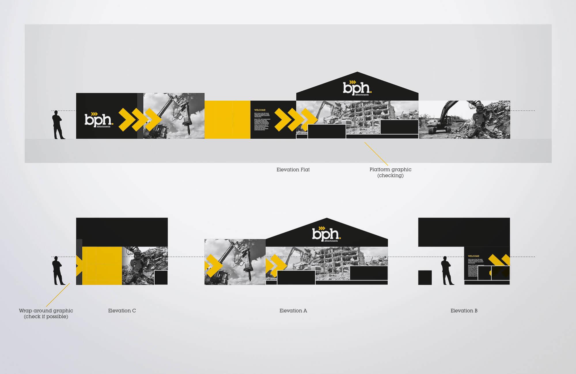 BPH Exhibition Stand Design Visual