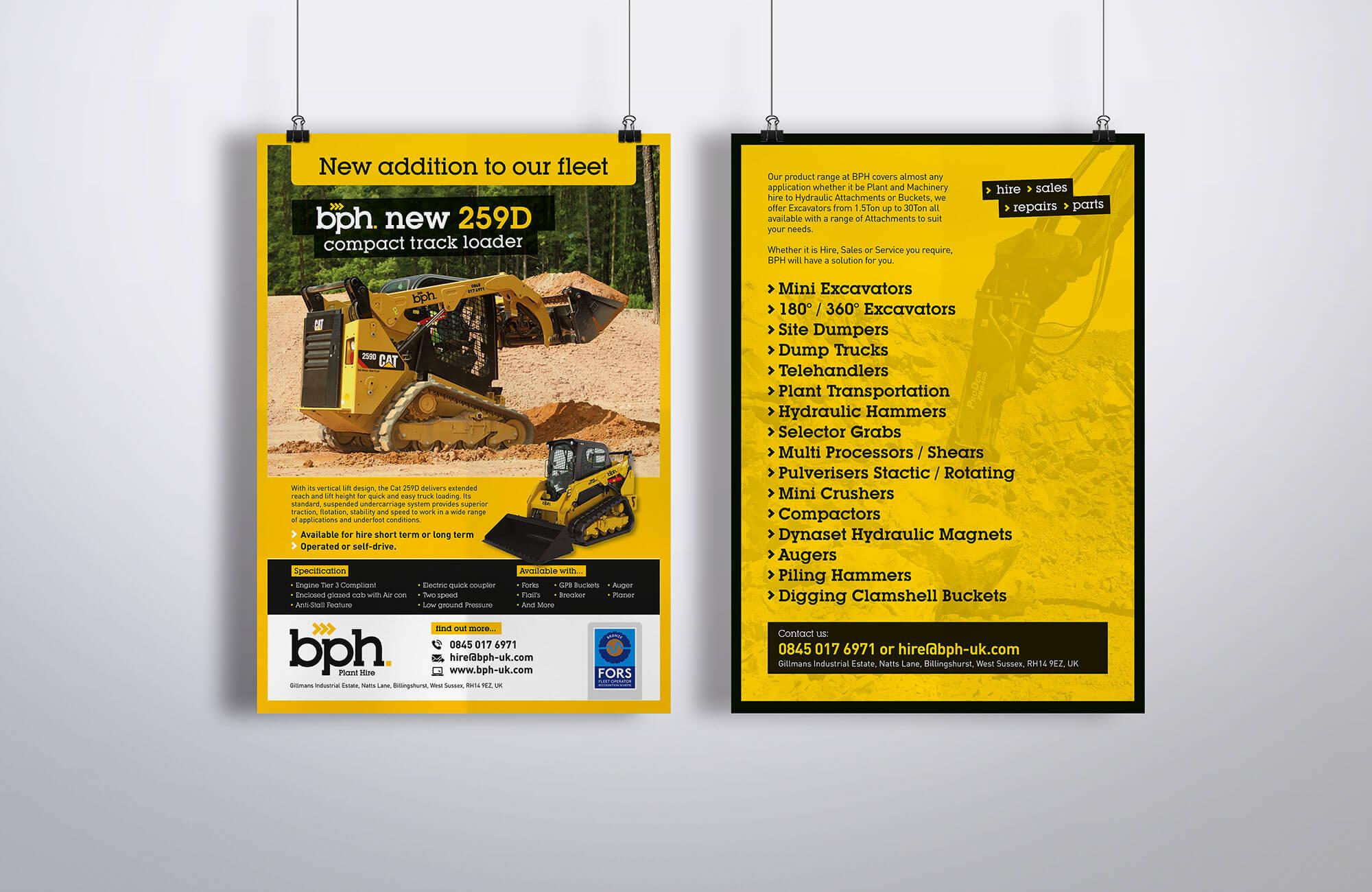 BPH Promo Leaflet Design Concept