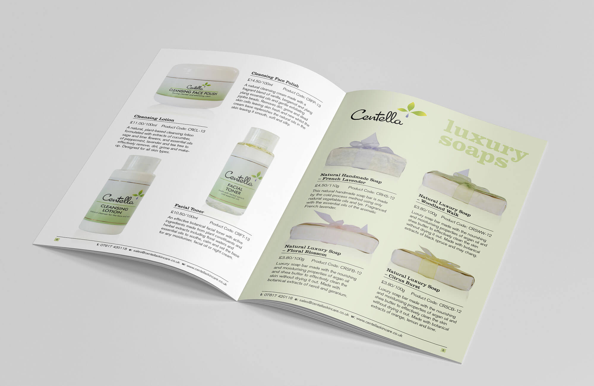 Centella Brochure Design