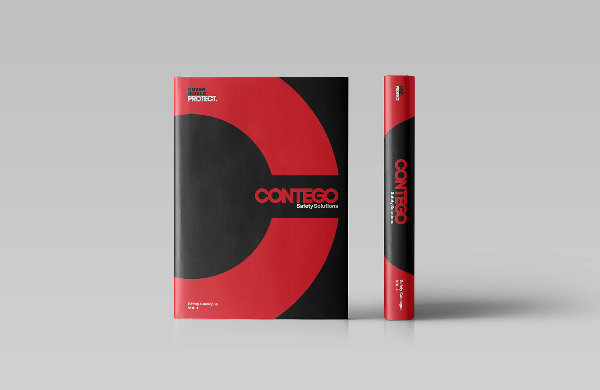 Contego Catalogue Cover Design Concept