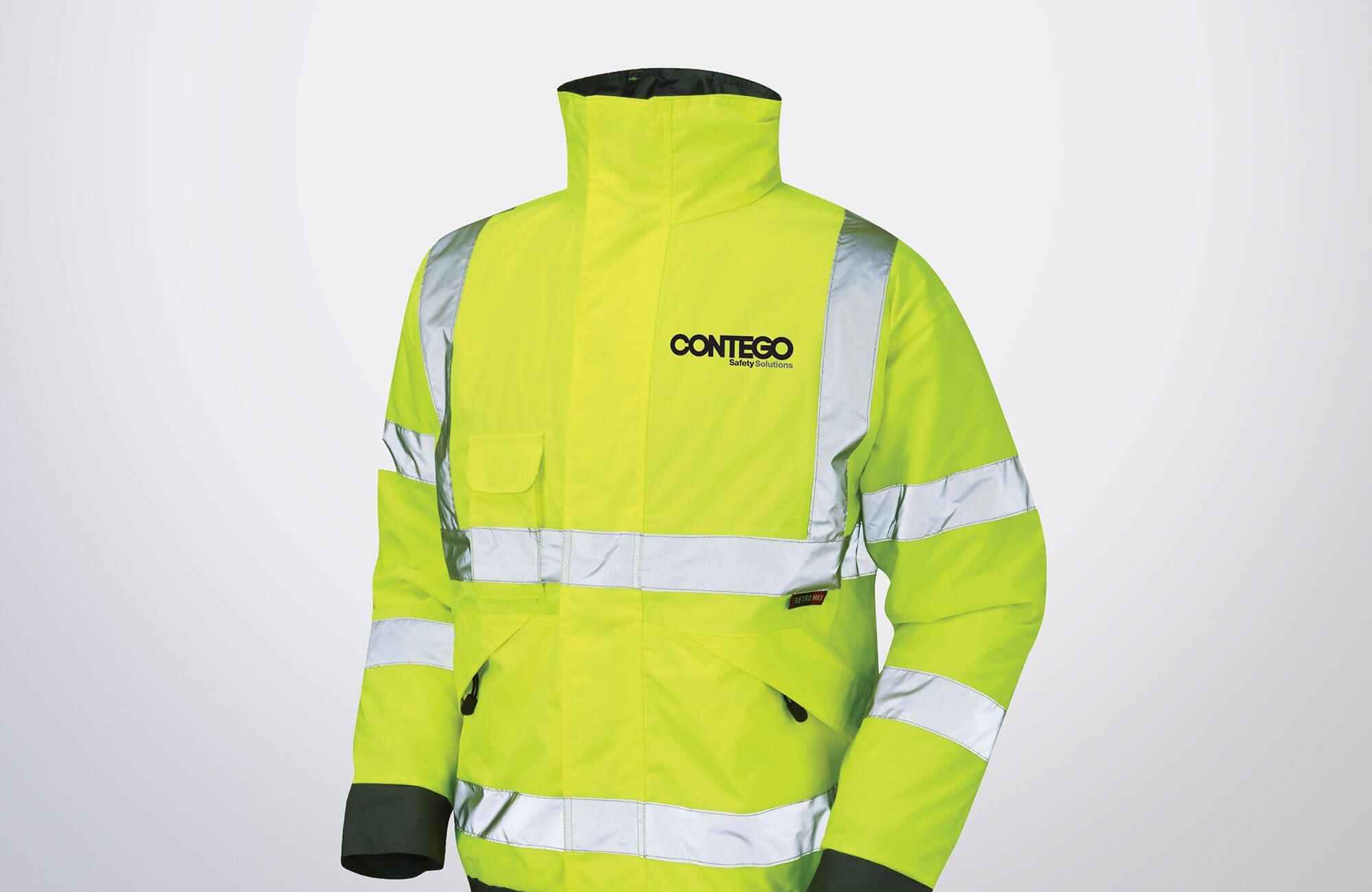 Contego HiVis Jacket Design Concept