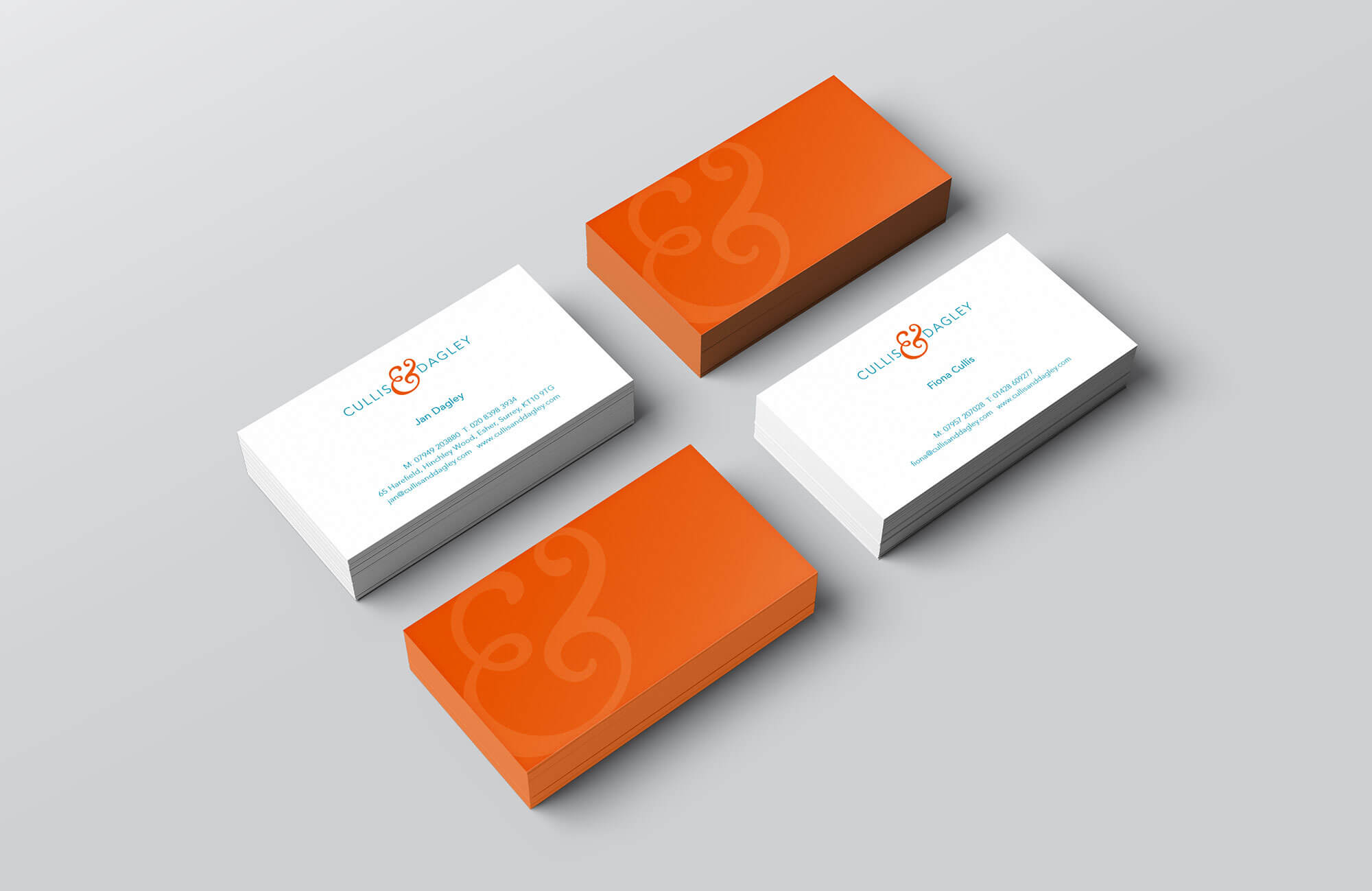 Cullis & Dagley Business Card Design Concept
