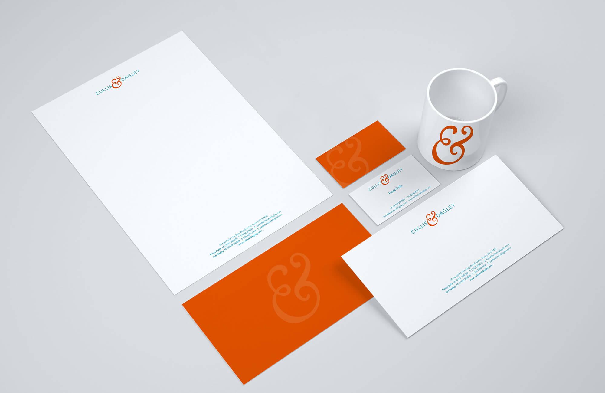 Cullis & Dagley Stationery Design Concept