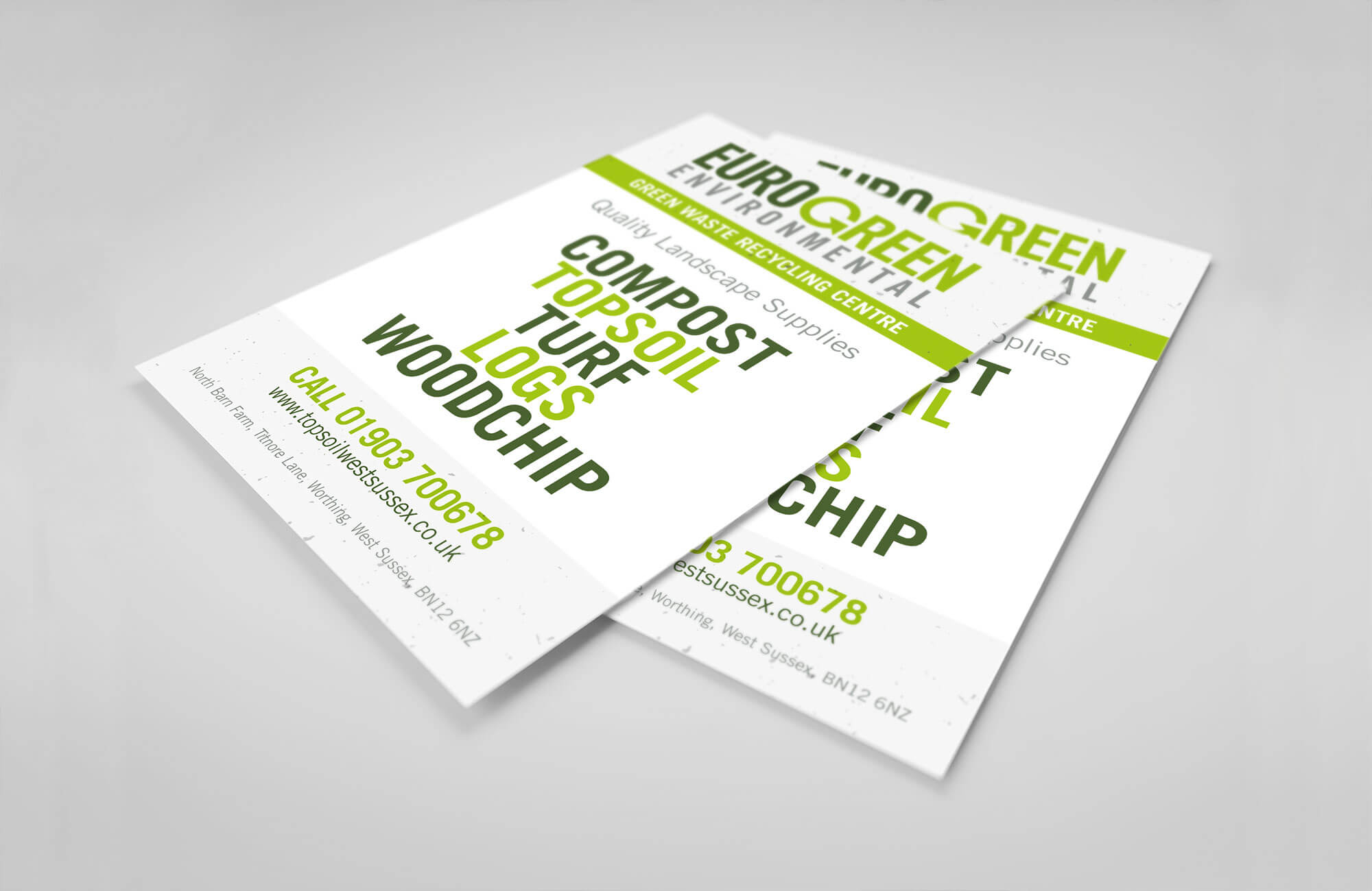 Eurogreen Flyer Design