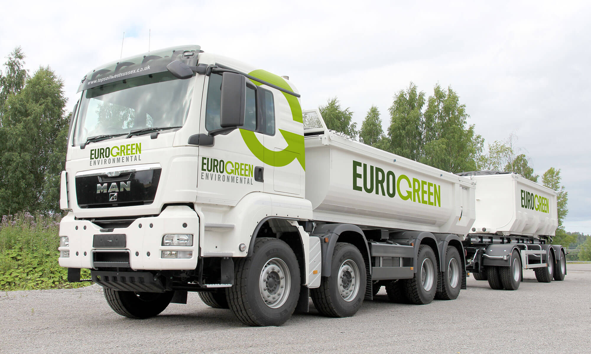 Eurogreen Vehicle Sign Writing Concept
