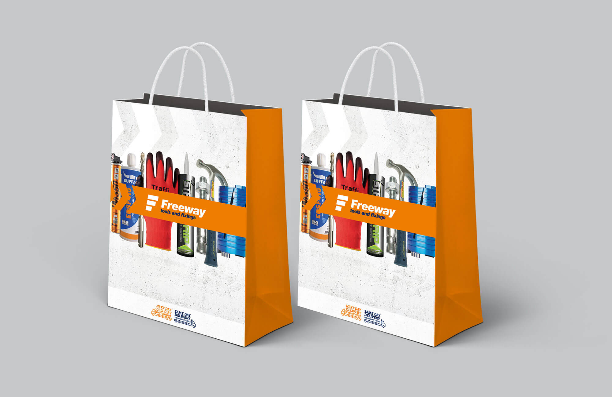 Freeway Carrier Bag Design Concept