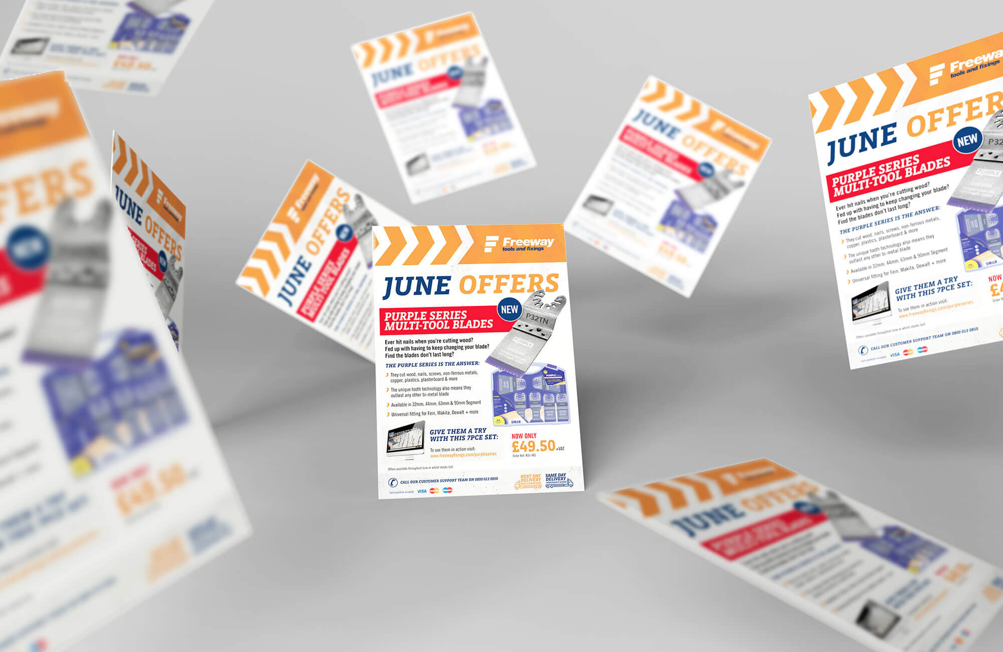 Freeway Offer Leaflet Design Concept