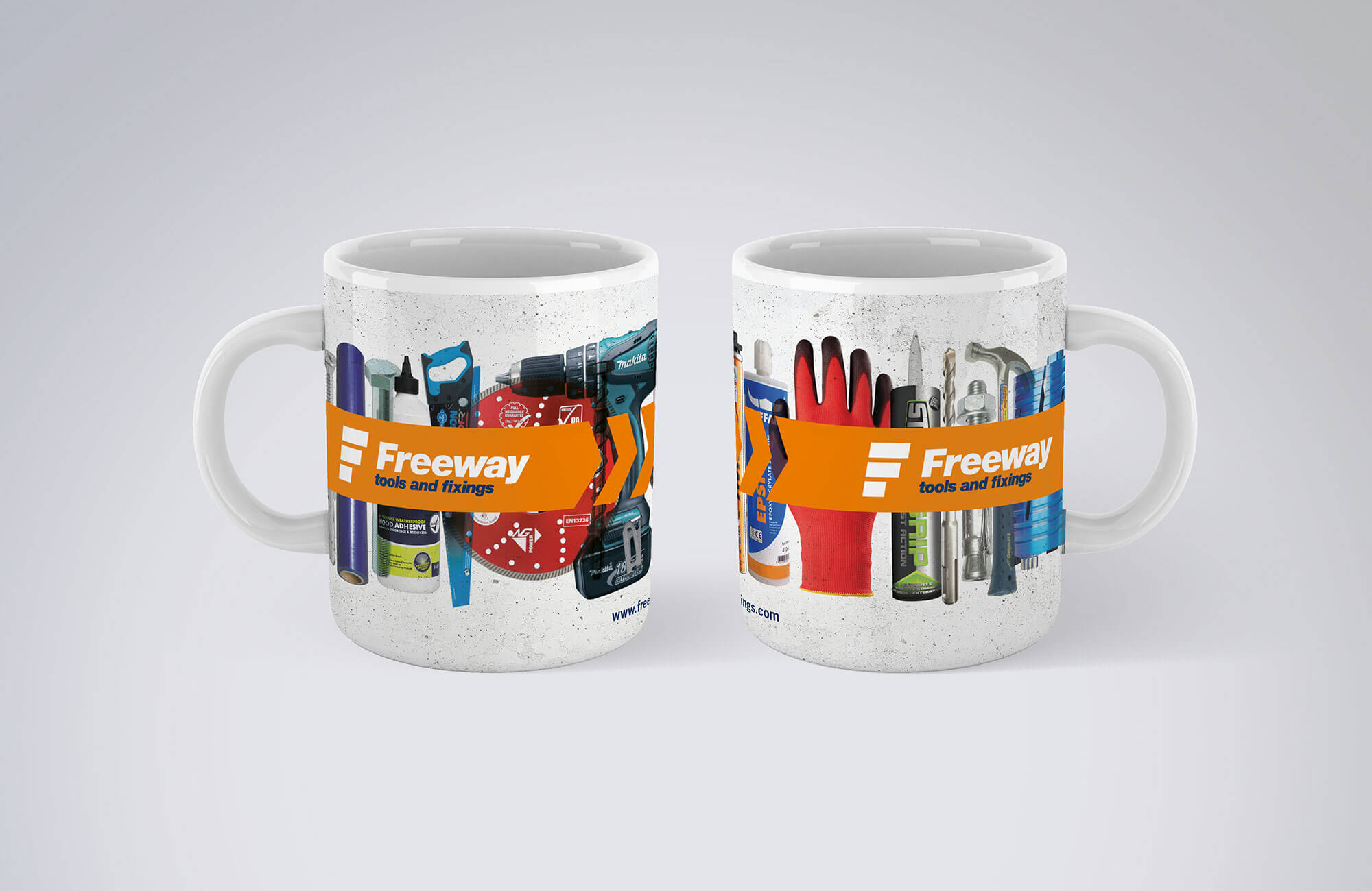 Freeway Branded Mug
