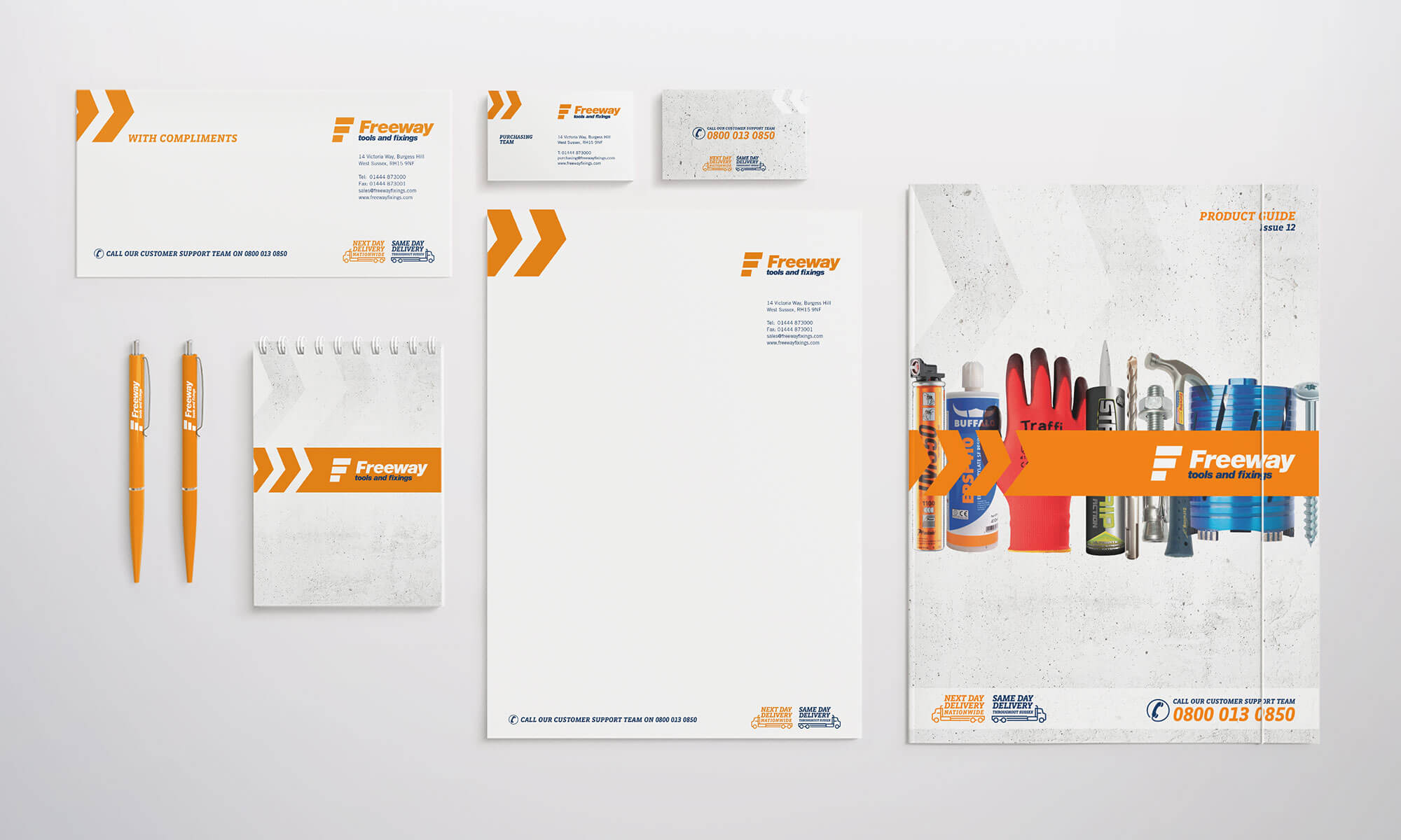 Freeway Business Stationery Design Concepts