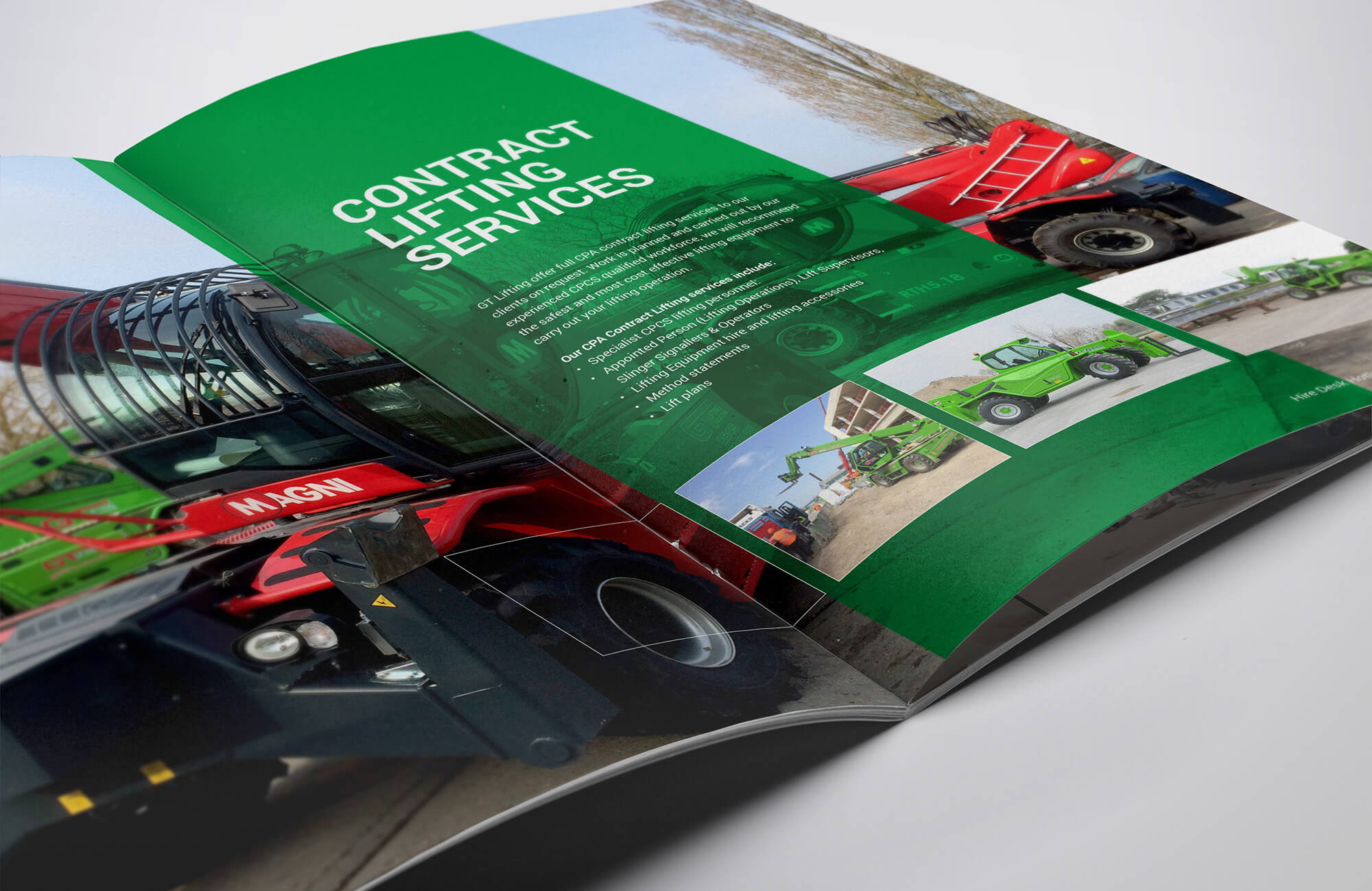 GT Lifting Brochure Design and Printing