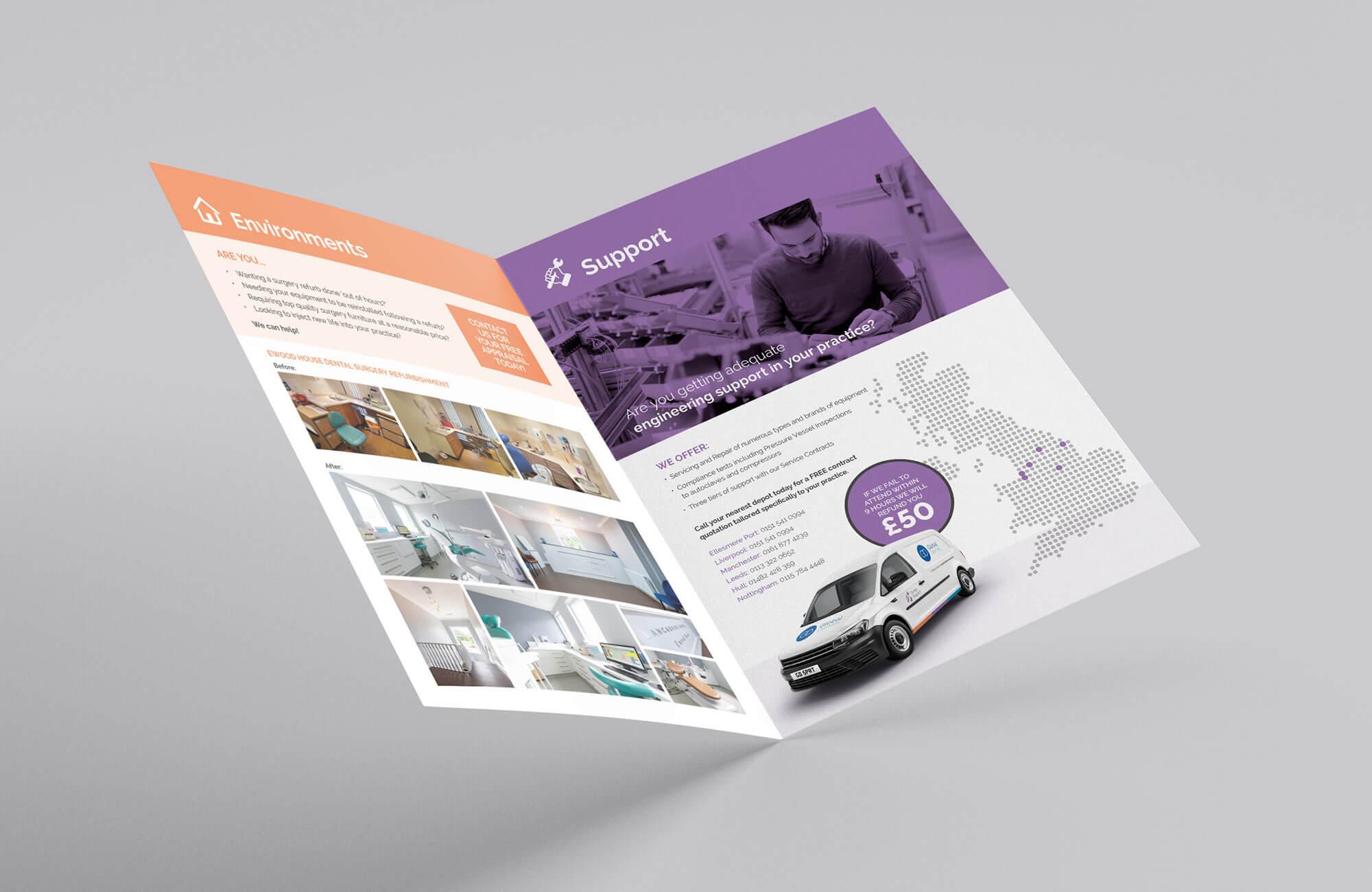 Global Dental Newsletter Design