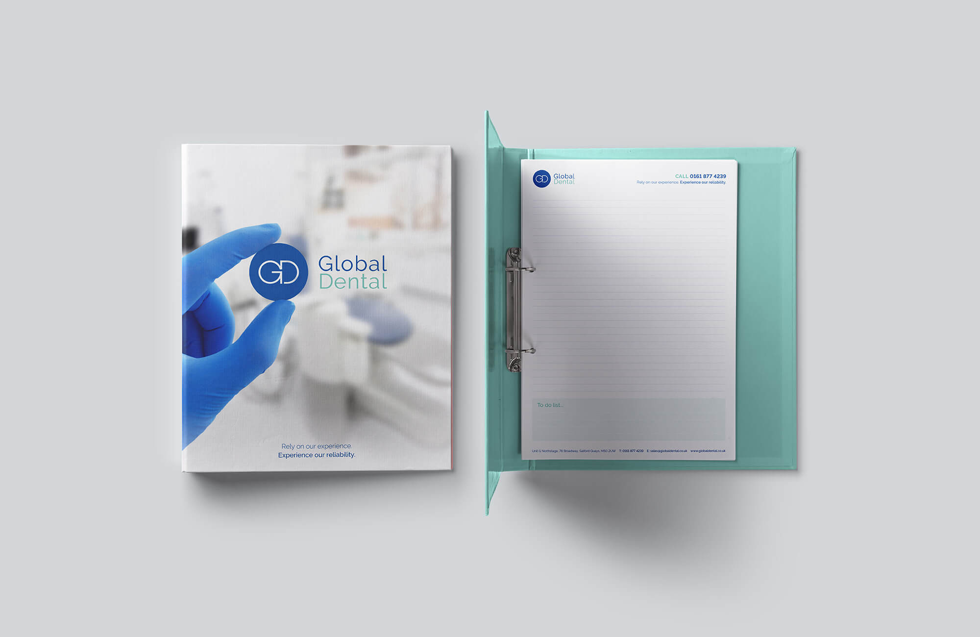 Global Dental Bespoke Ring Binder