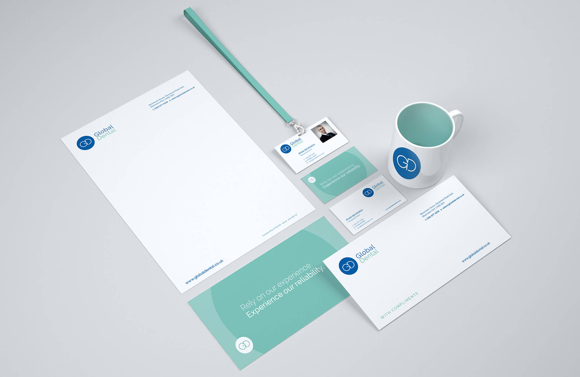 Global Dental Stationery Design Concepts