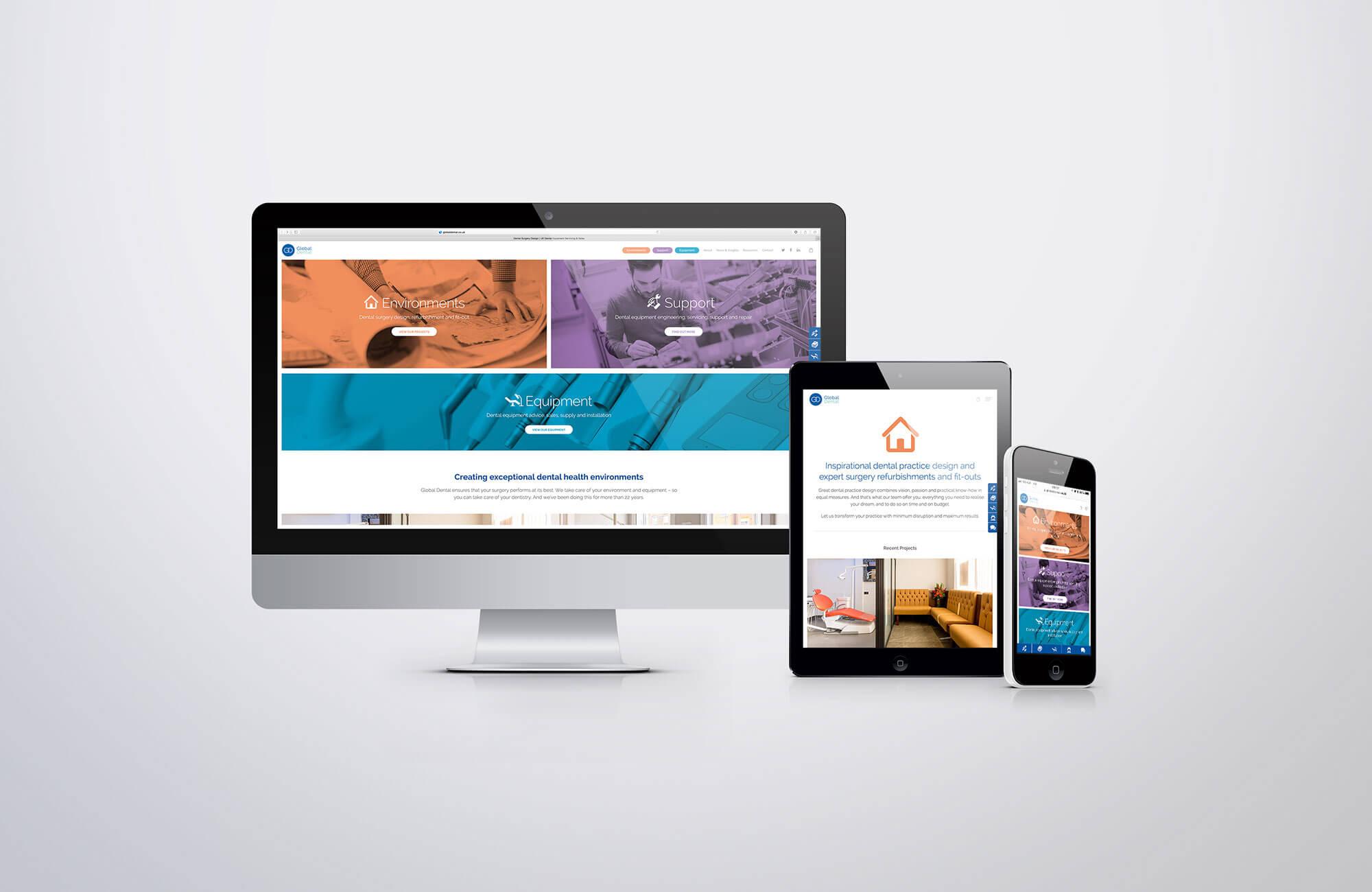 Global Dental Website Design