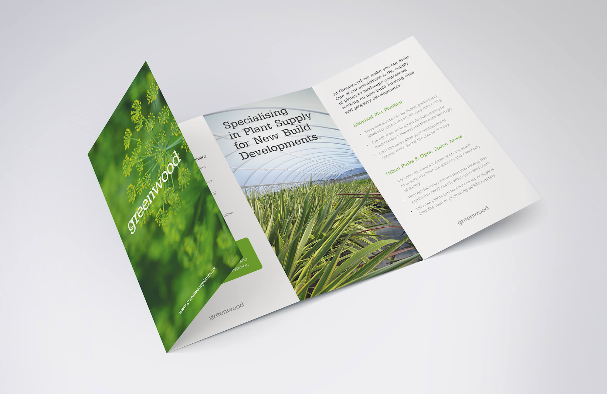 Greenwood Brochure Design and Print