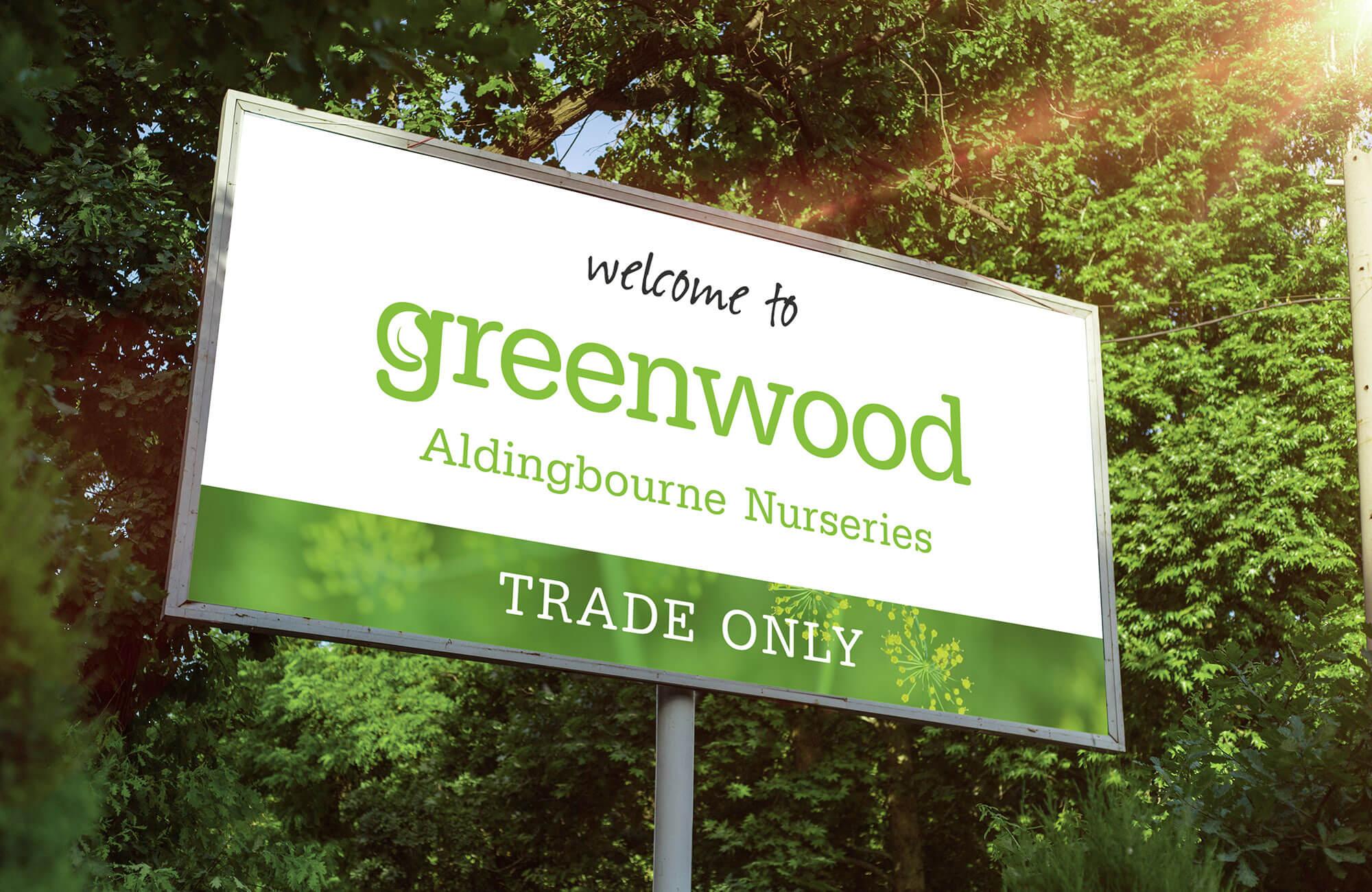 Greenwood Exterior Signage Design Concept
