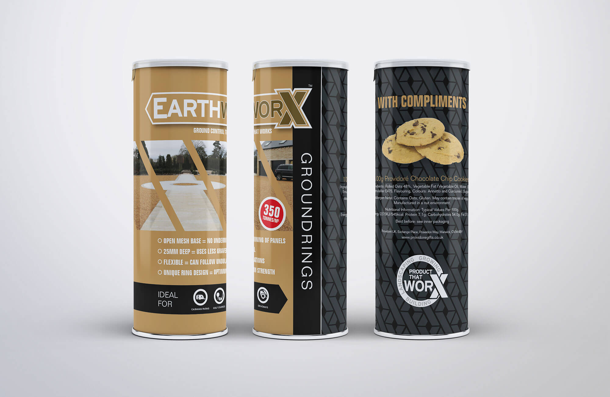 Growtivation Branded Biscuit Tube Design