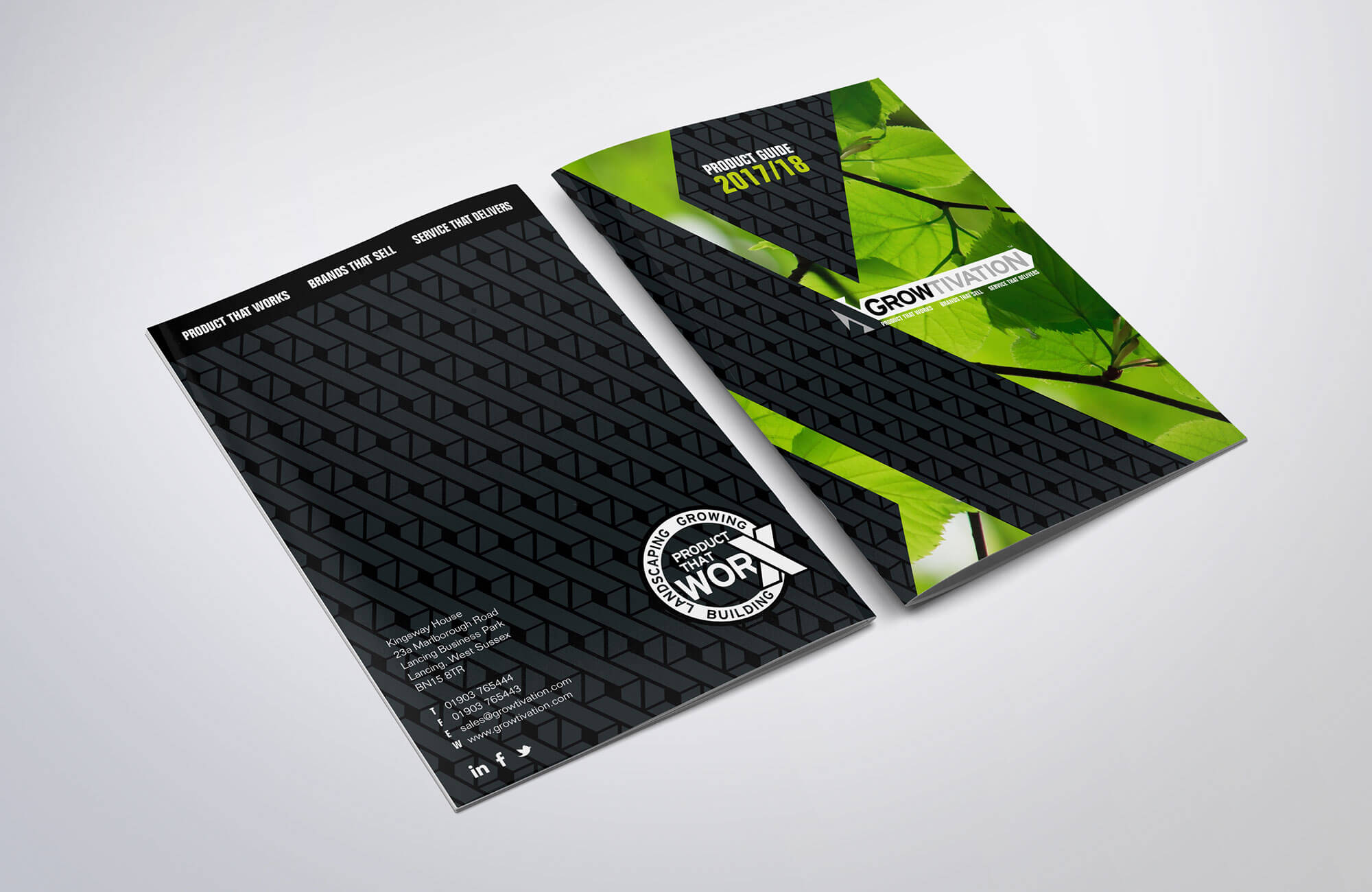 Growtivation Product Guide Design and Printing