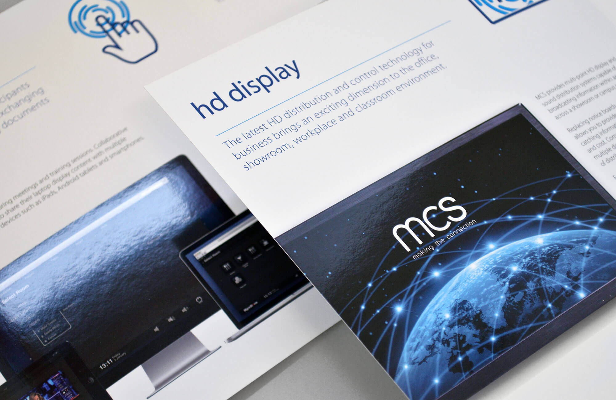 MCS Brochure Spot UV Varnish