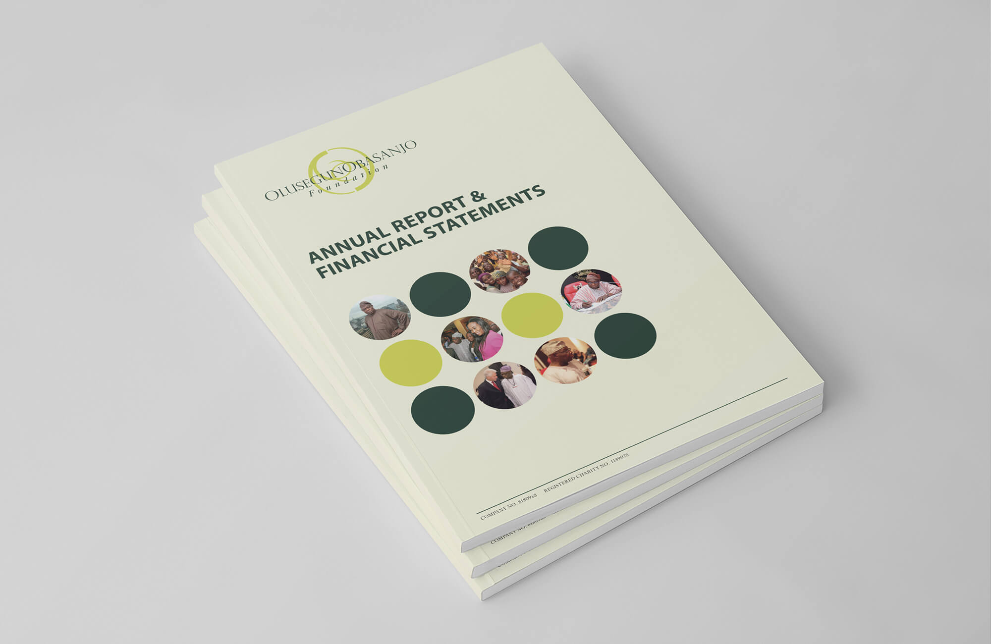 OOF Annual Report Design and Printing