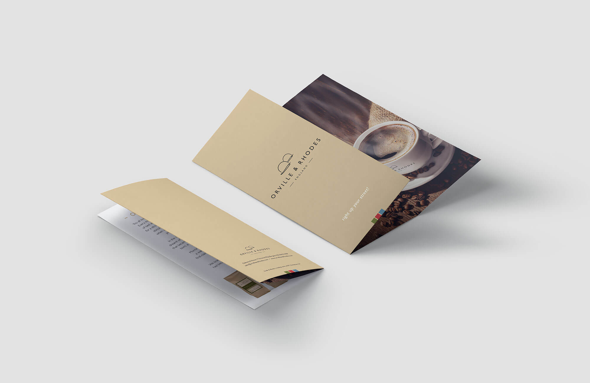 Orville & Rhodes Leaflet Design and Printing