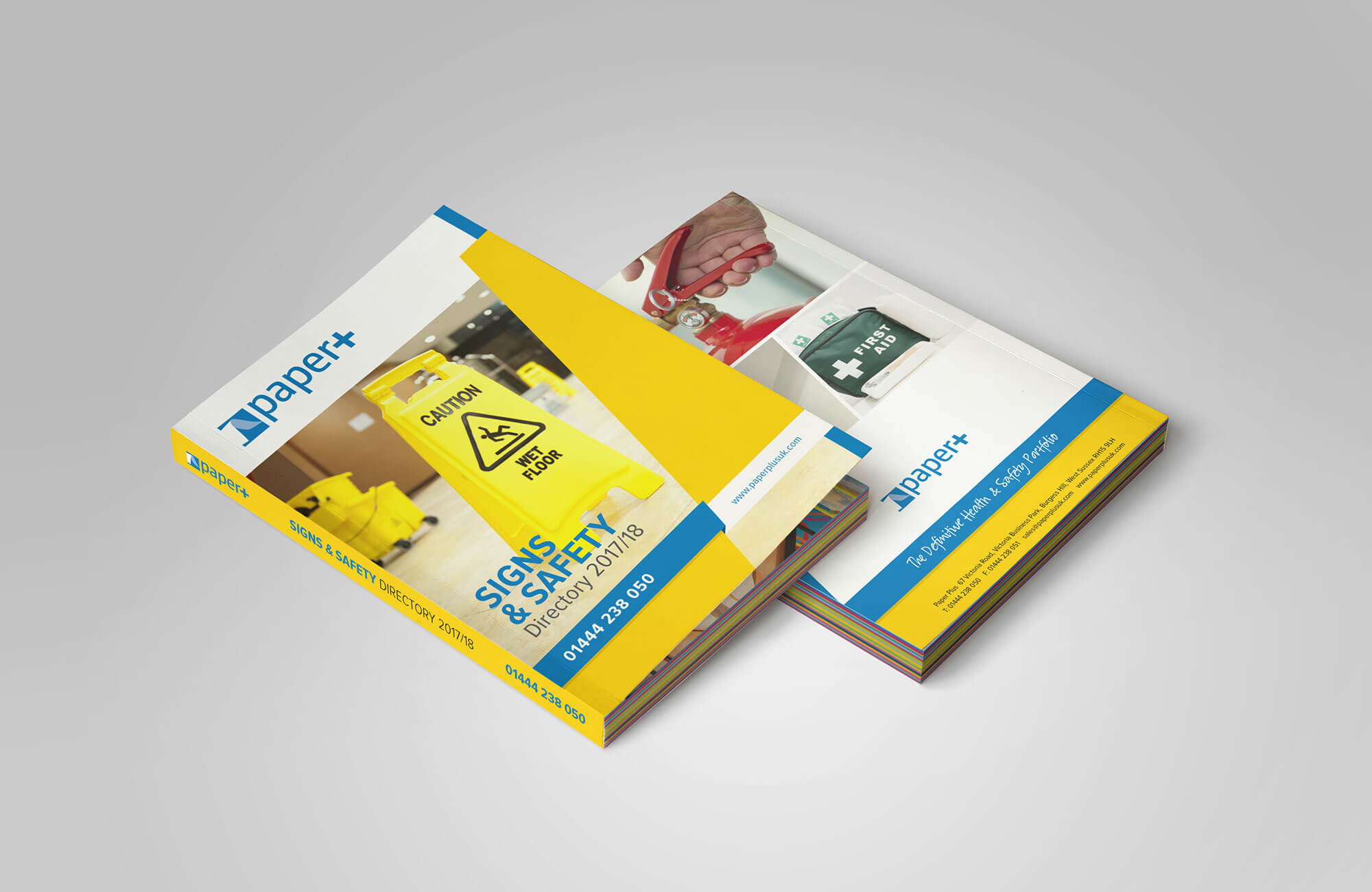 Paper Plus Safety Catalogue Design Concept
