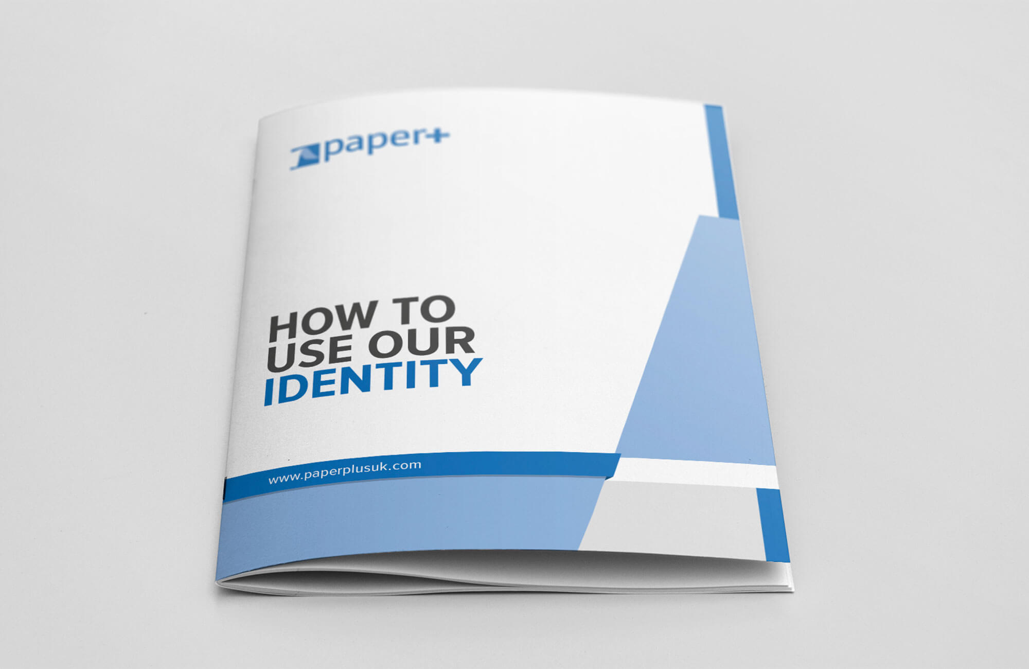 Paper Plus Identity Guidelines Cover