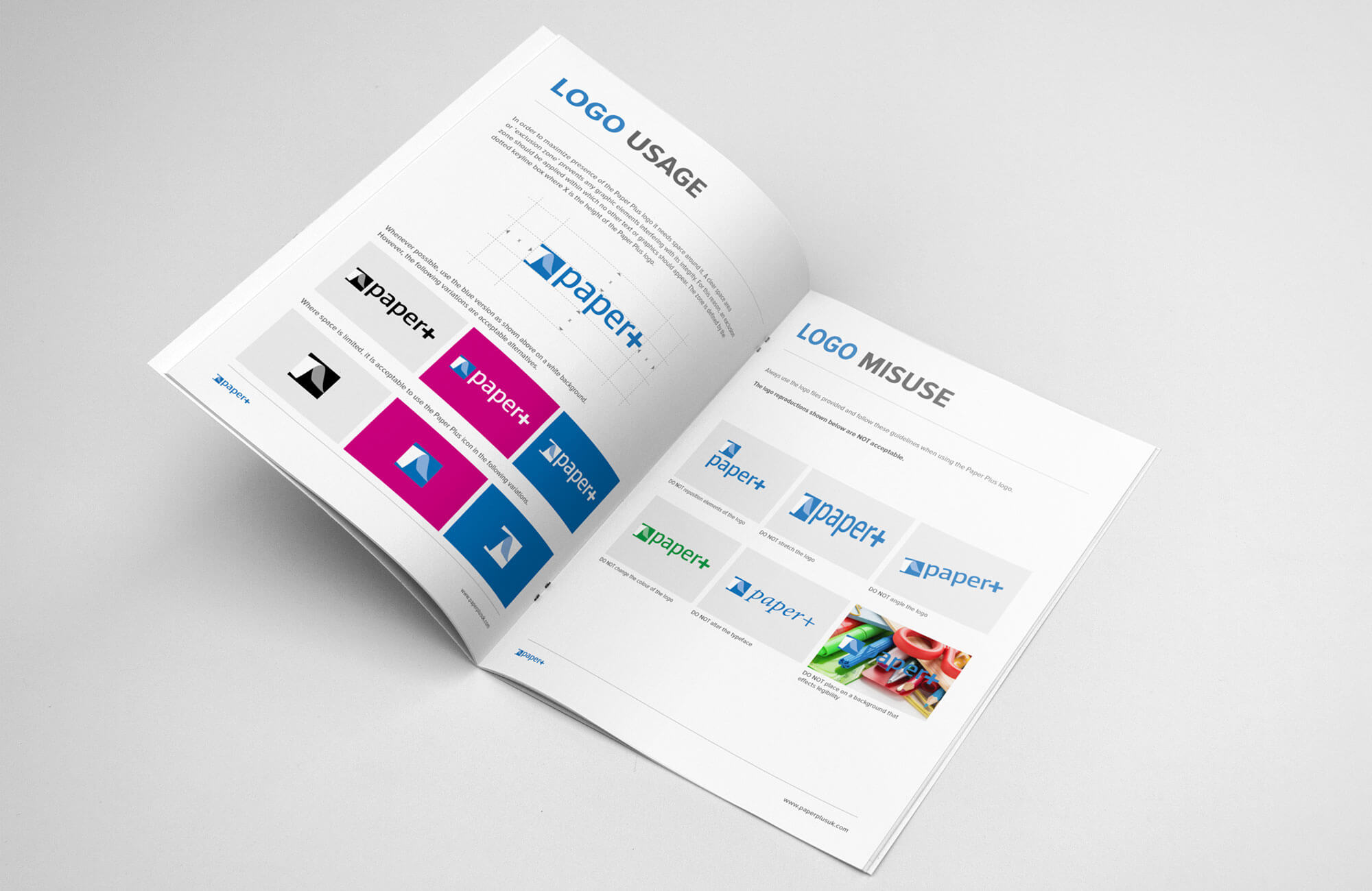 Paper Plus Identity Guidelines