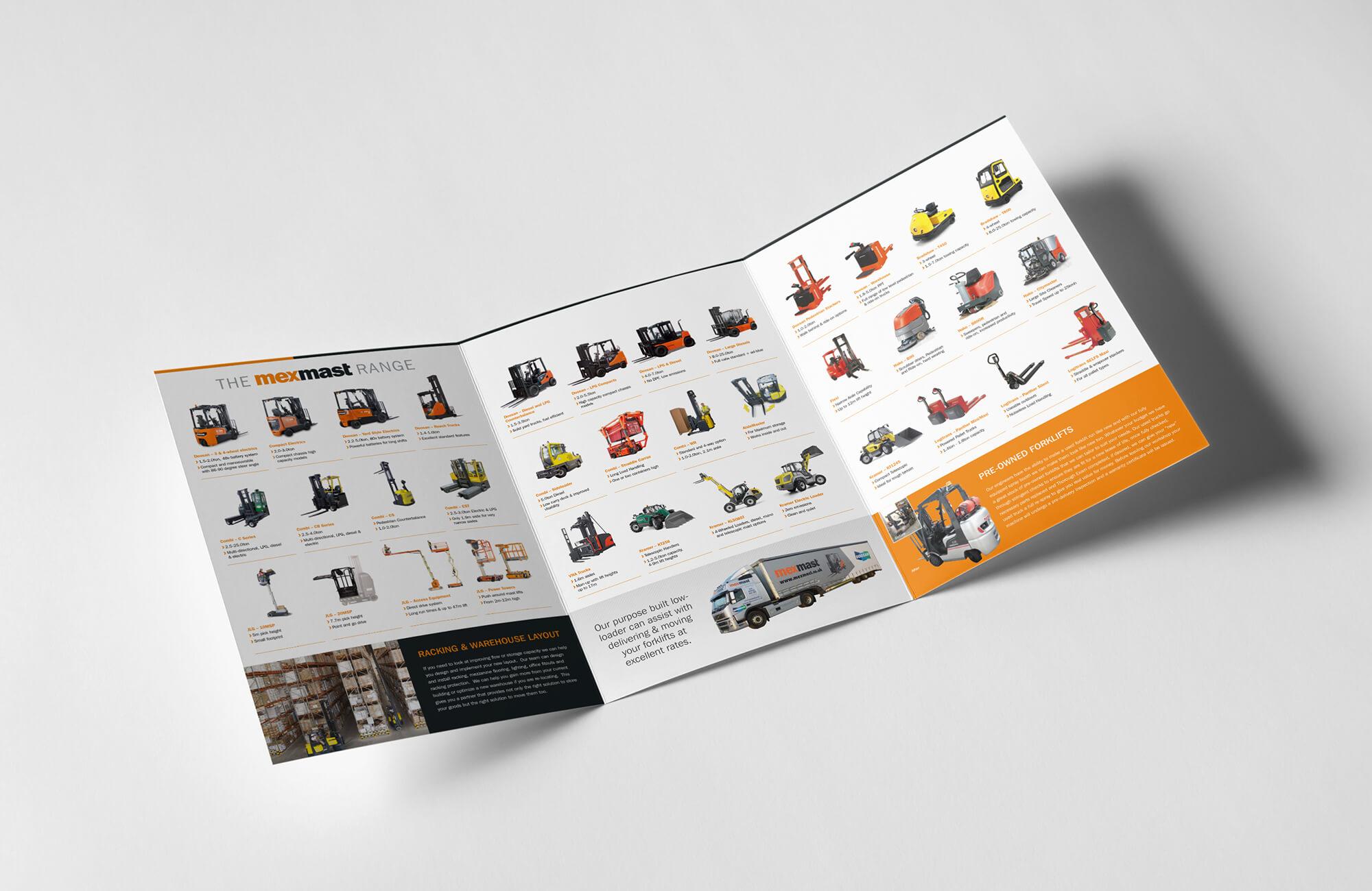 Mexmast Brochure Design and Print