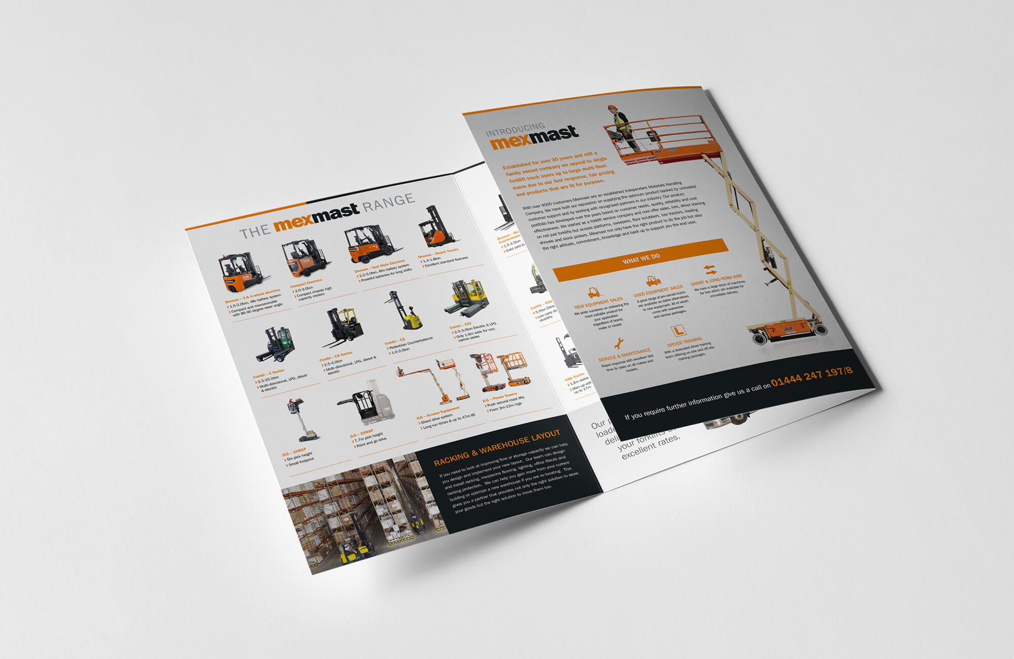 Mexmast Overview Brochure Design