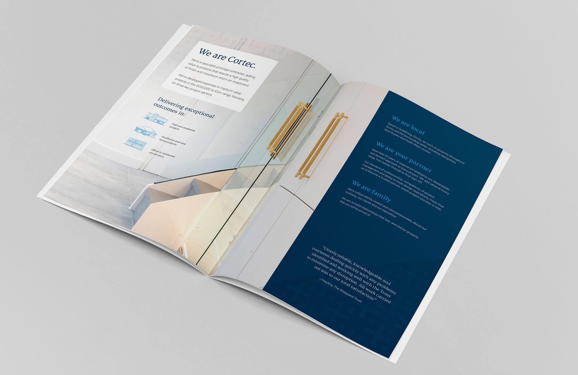 Cortec Brochure Design and Printing