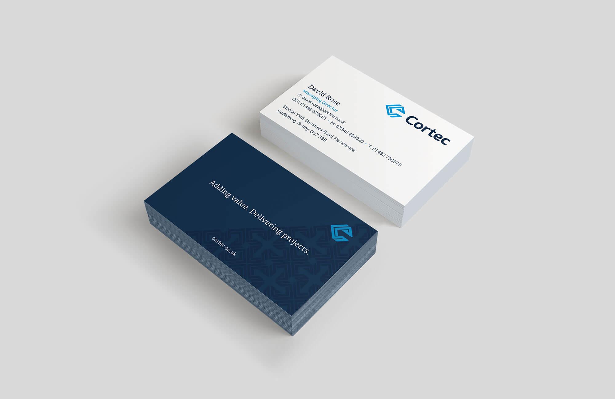 Cortec Business Cards