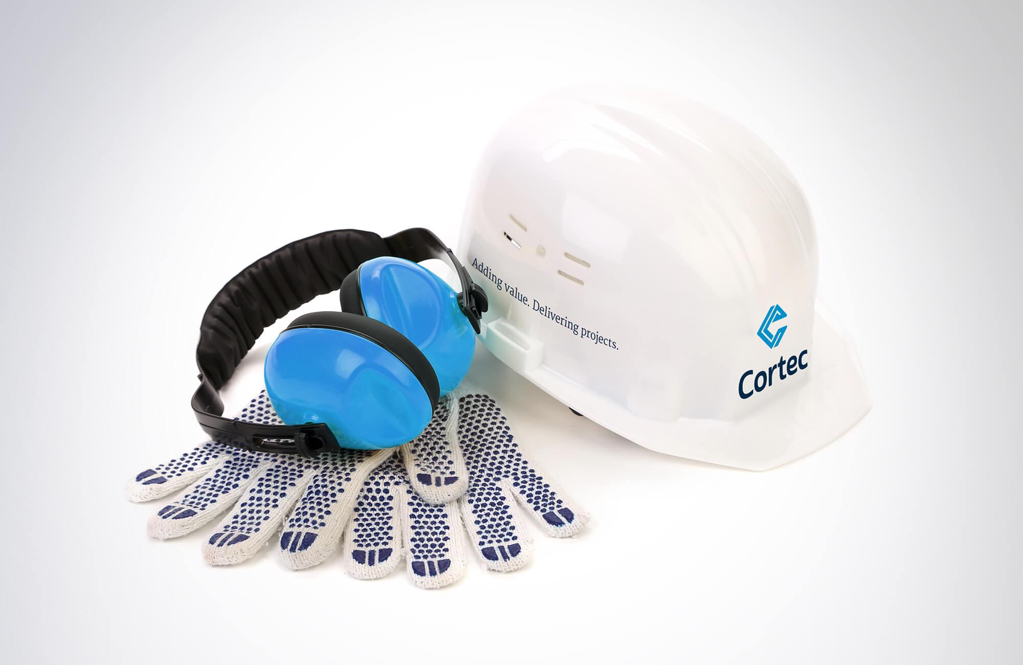 Cortec Branded Hard Hat Design Concept