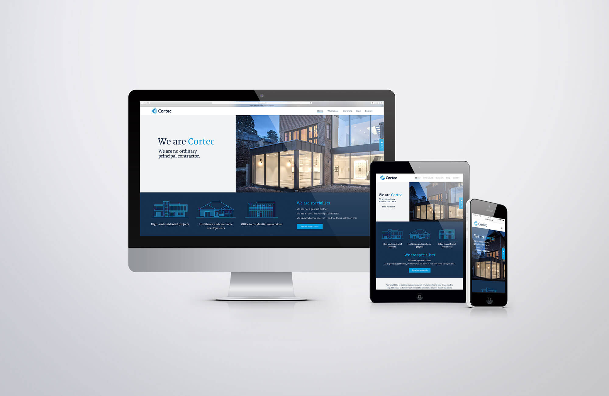 Cortec Website Design and Development
