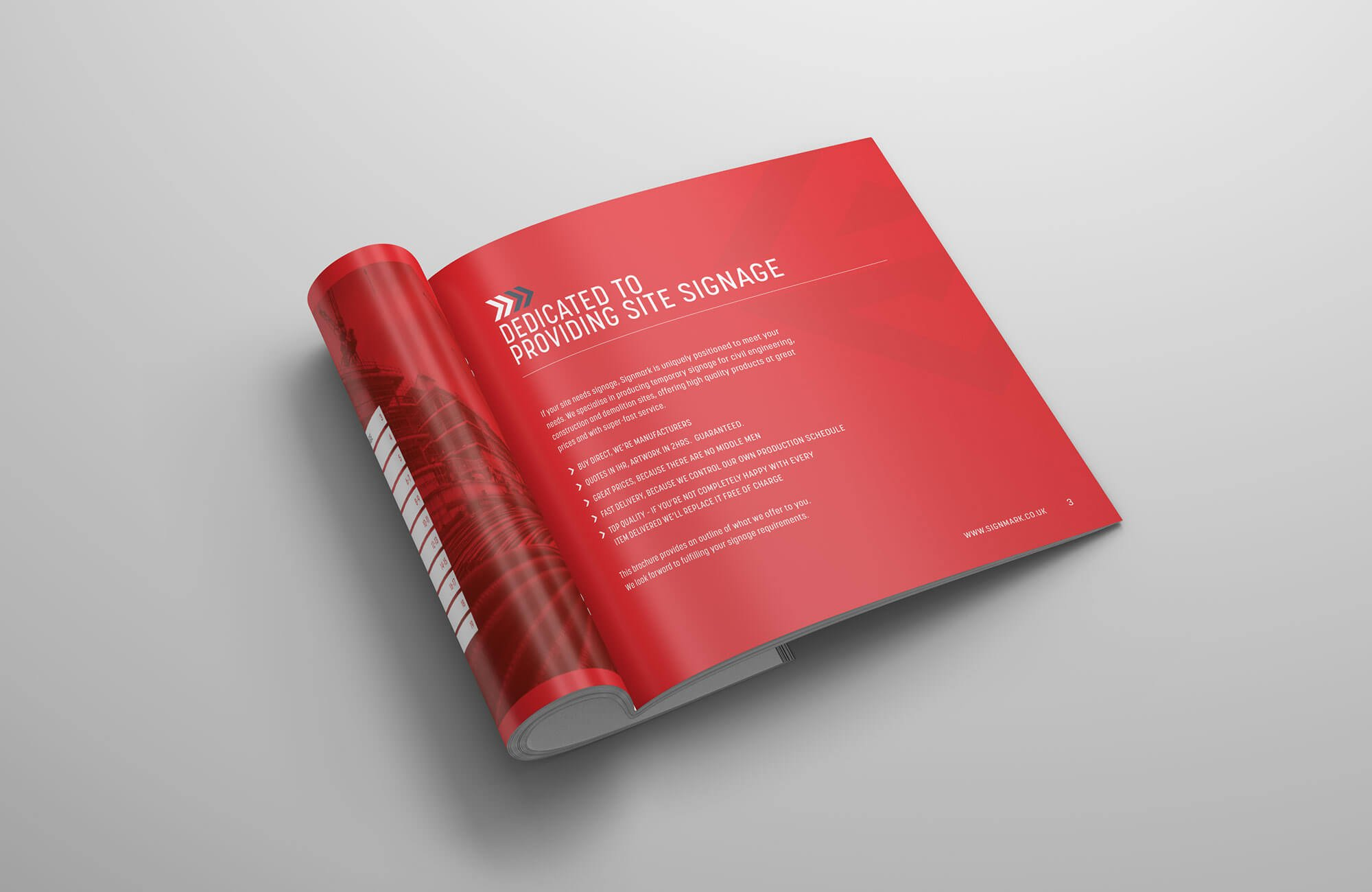 Signmark Overview Brochure Intro Page
