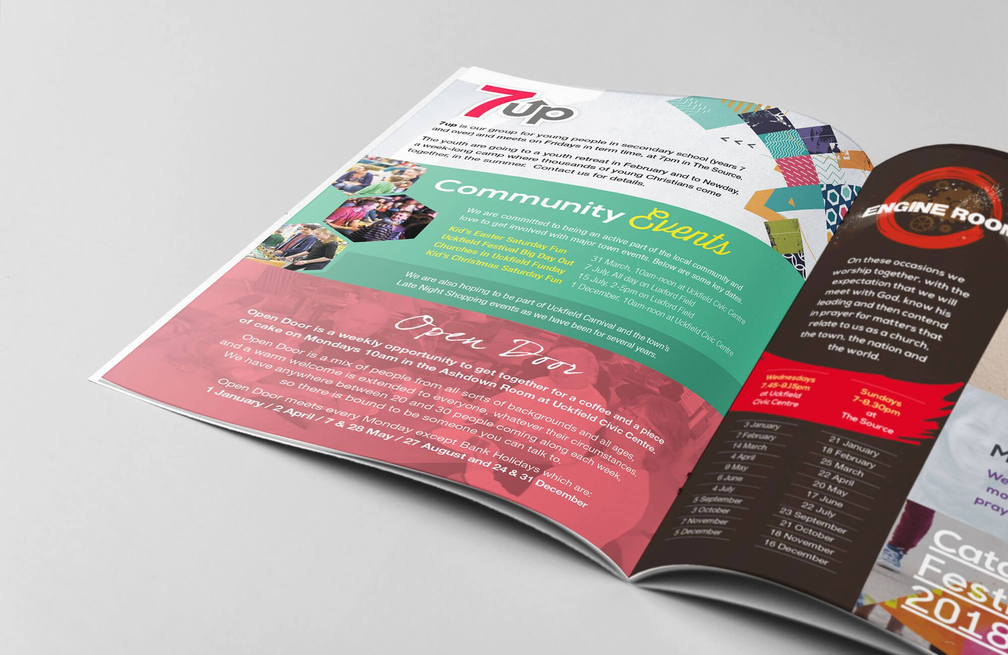 Kings Church Brochure Design and Print