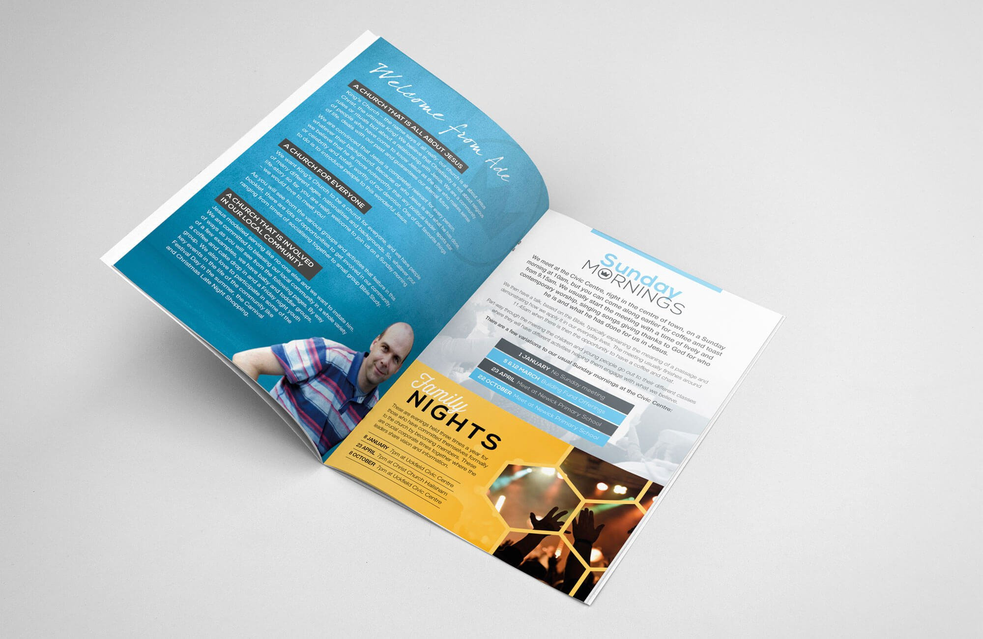 Kings Church Magazine Design and Print