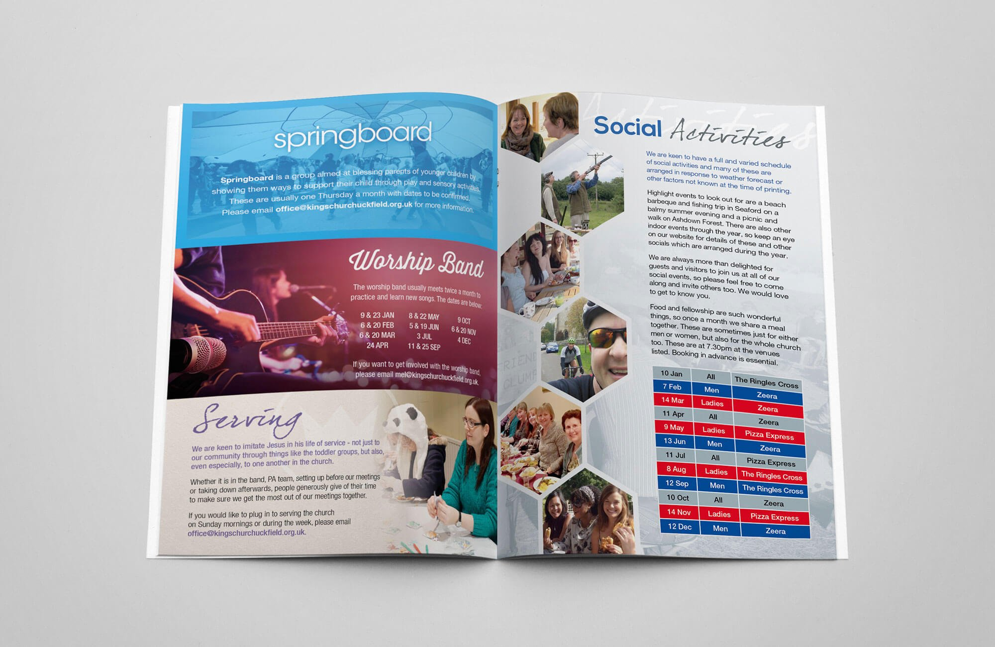 Kings Church Community Magazine Design and Print