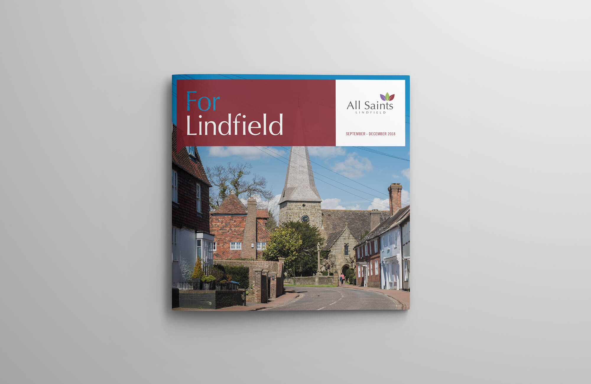 All Saints Church Community Magazine Cover