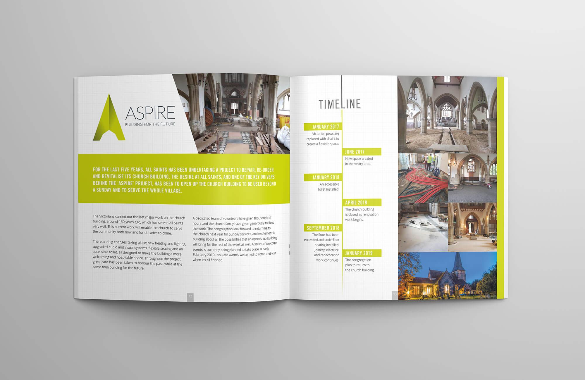 All Saints Church Community Magazine Design & Print